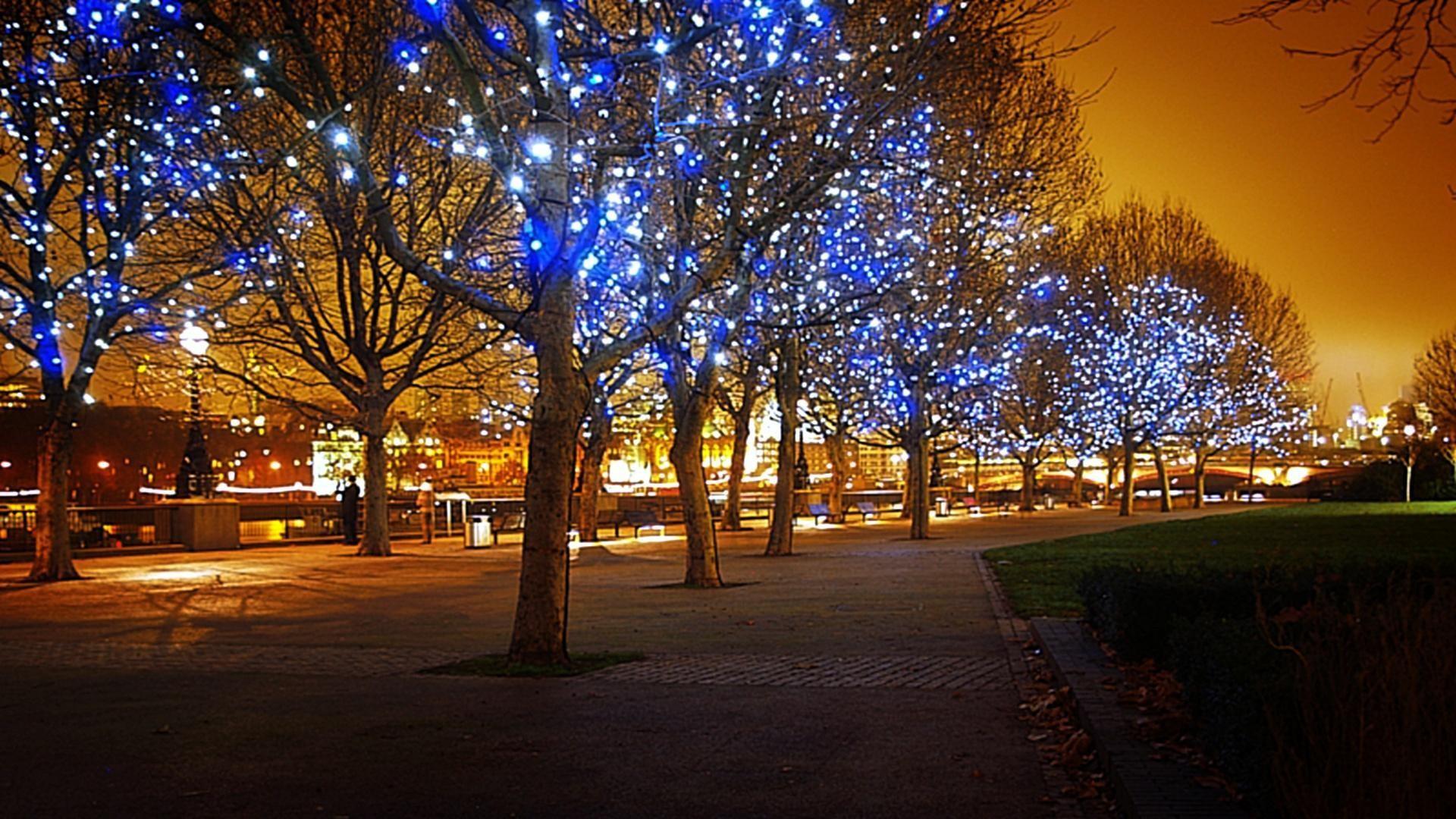 Christmas Light Up HD desktop wallpaper : Widescreen : High .