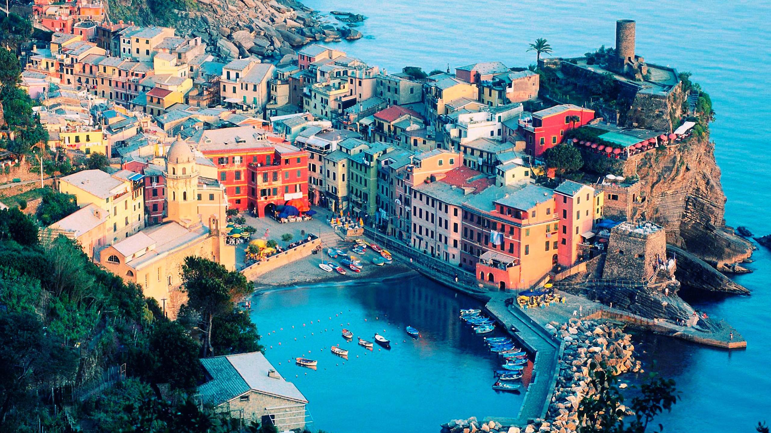 Vernazza Mac Travel Wallpapers Italy Cinque Terre