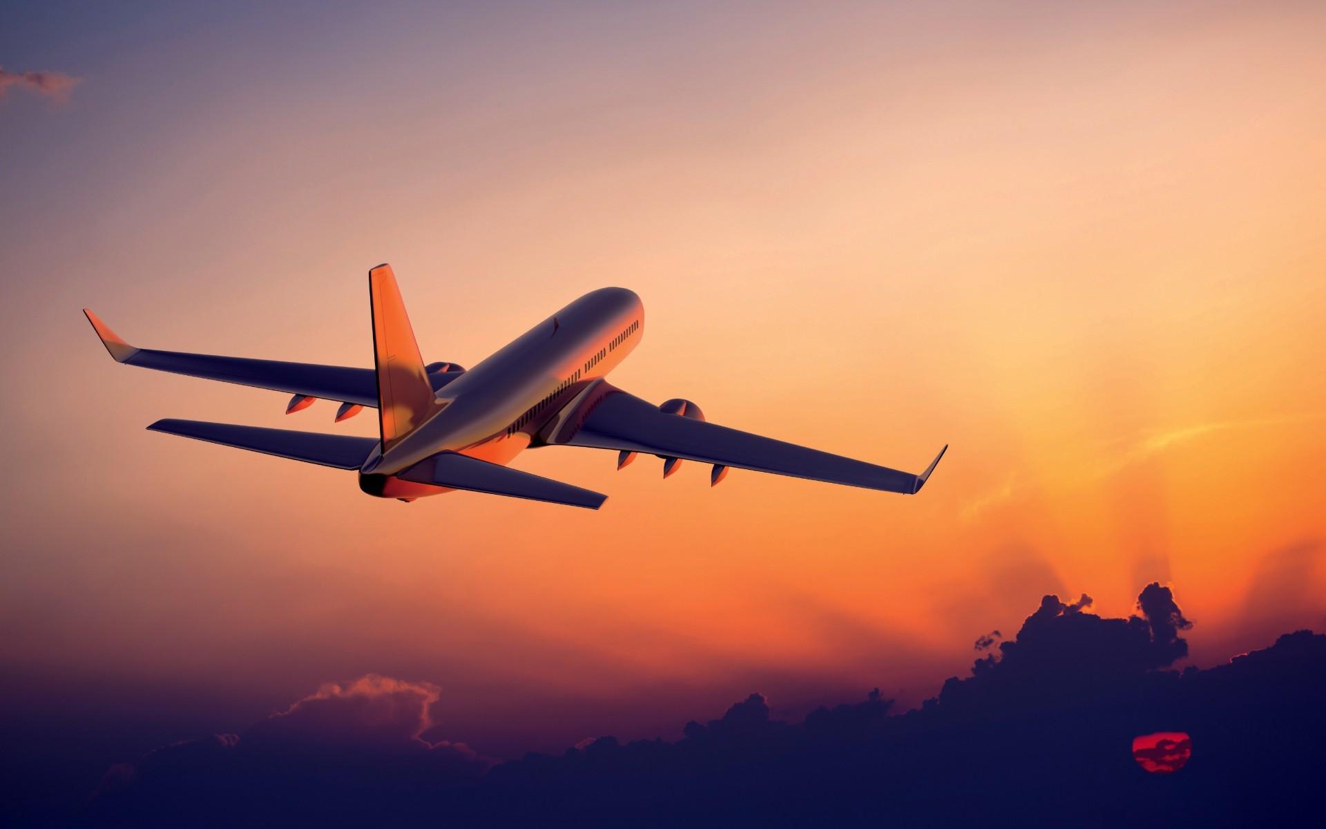 World / Airplane Wallpaper