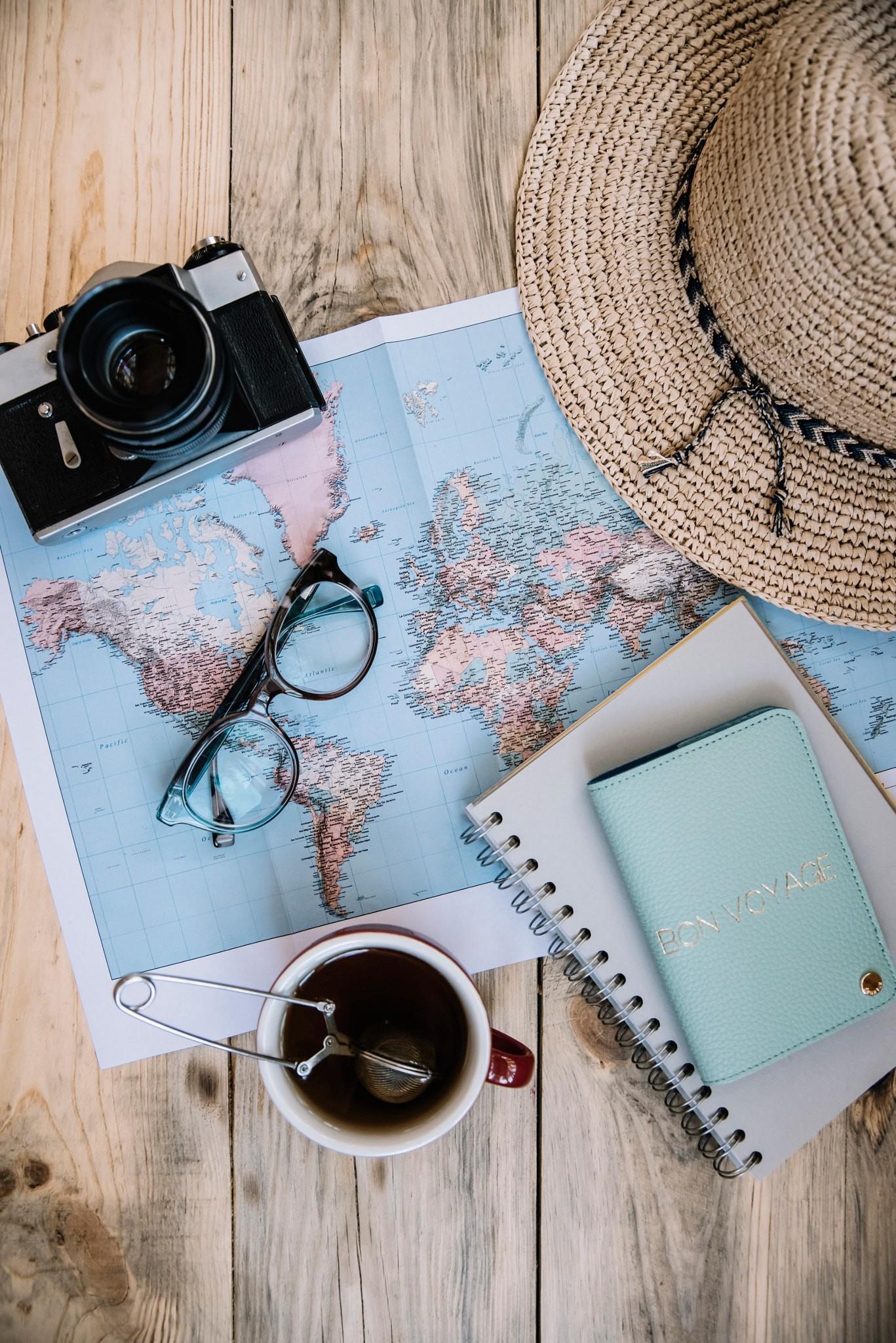 Travel preparations essentials by AnastasiaBelousova