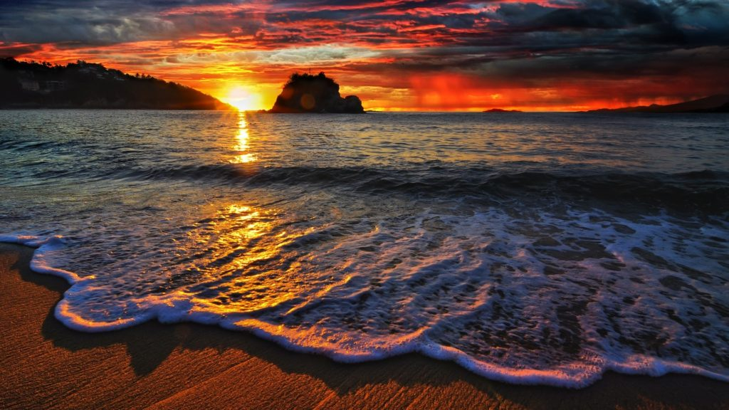 Beach waves wallpaper. Download Beach Waves Wallpaper HD …