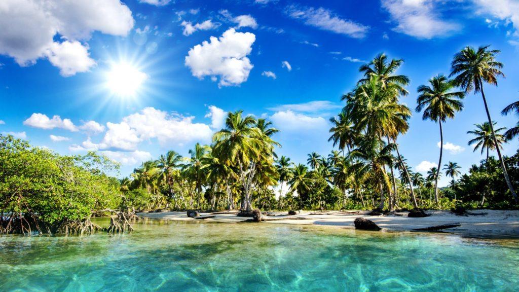 Tropical Beach B:727-ENX HQFX Photos