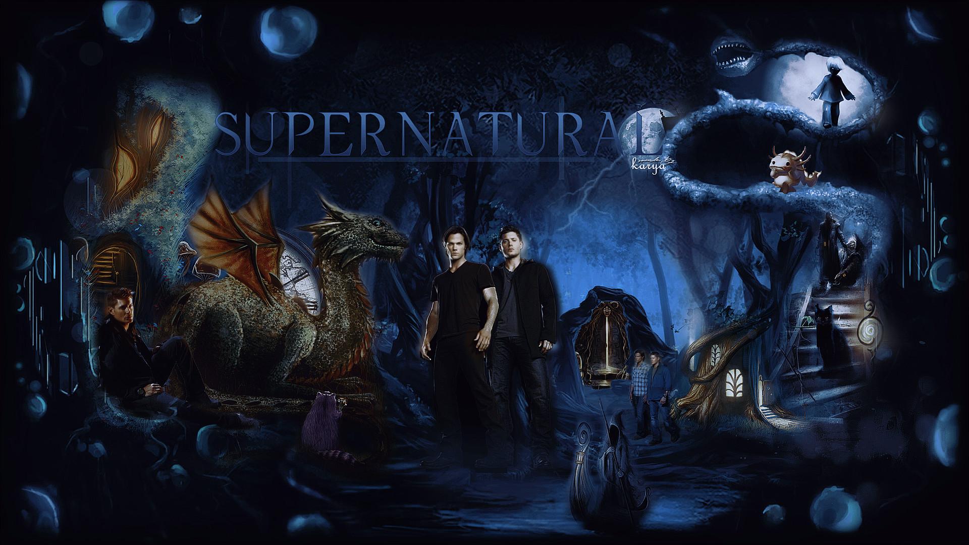 <b>Supernatural</b>) by AGMarry