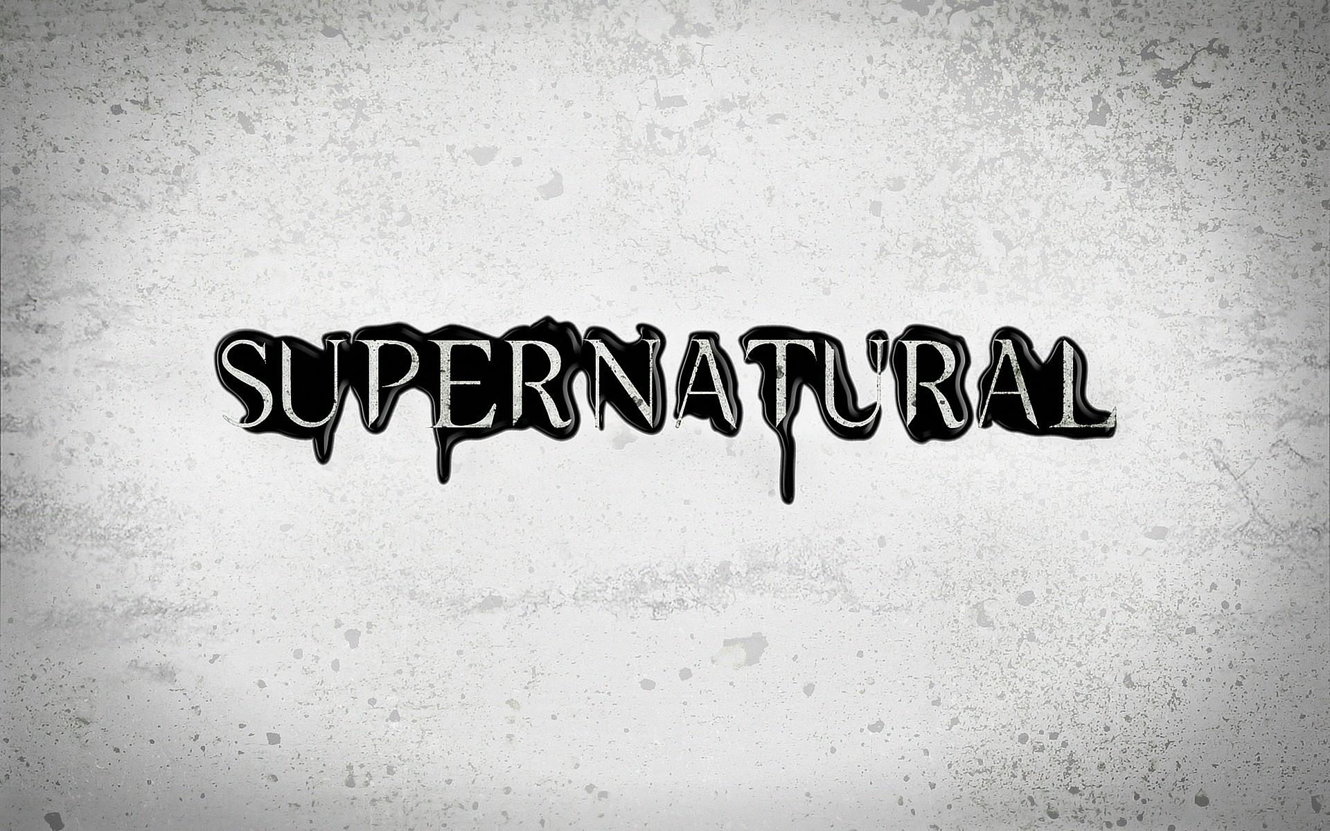 Season 8 Free Logo Supernatural Wallpaper HD.   Lugares para .