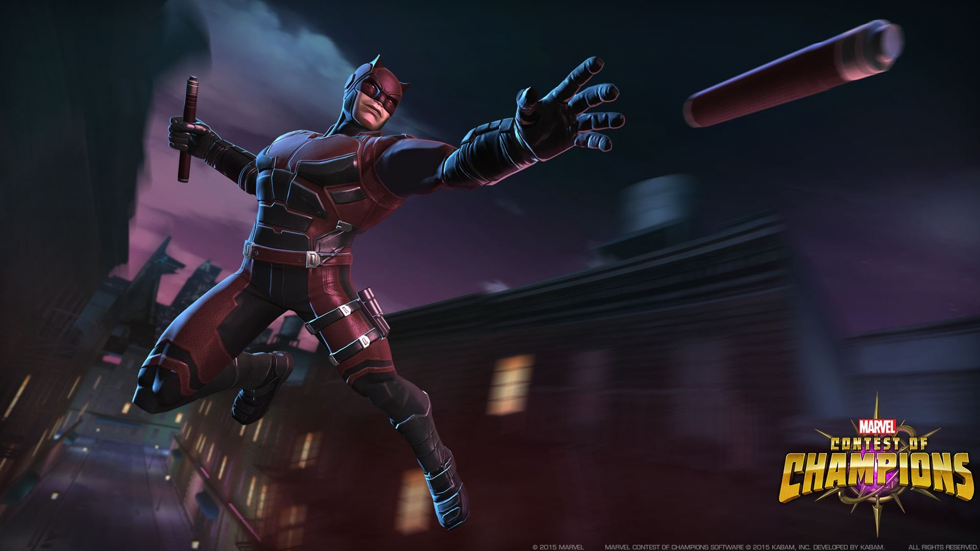 """""""Marvel's Daredevil"""" Leaps from Netflix to """"Marvel Contest of Champions"""" –  YouTube"""