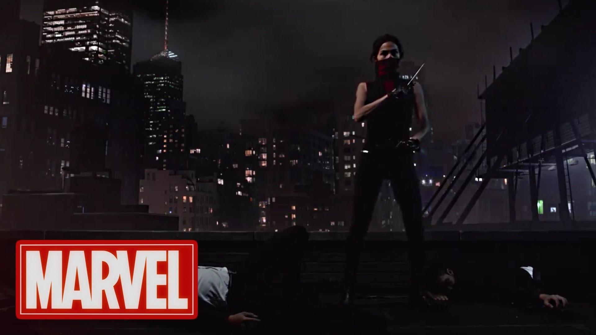 Daredevil Season 2 | Official Character Artwork – Elektra | (2016) HD –  YouTube