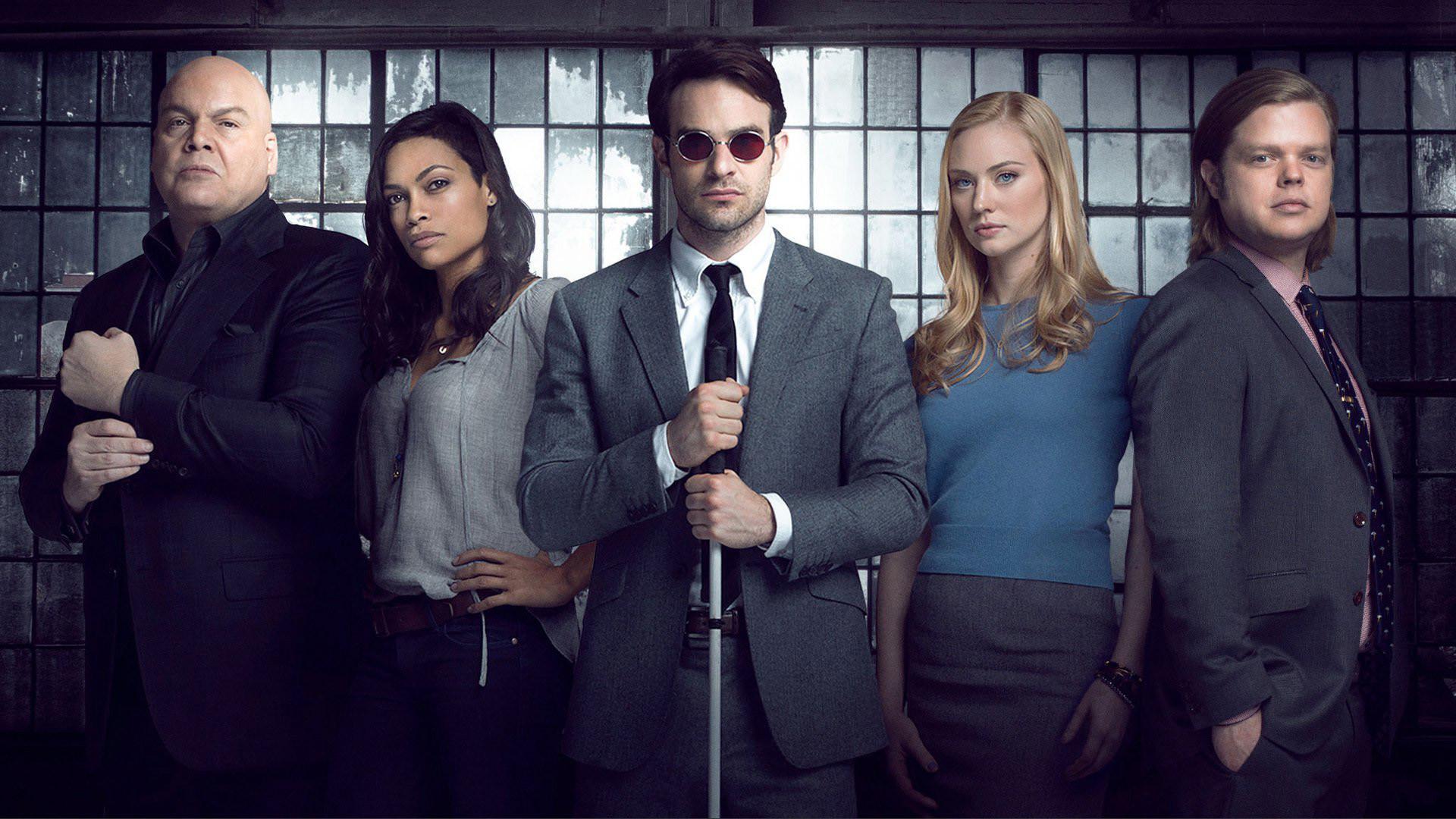 #Daredevil – Season 1 Cast Photo