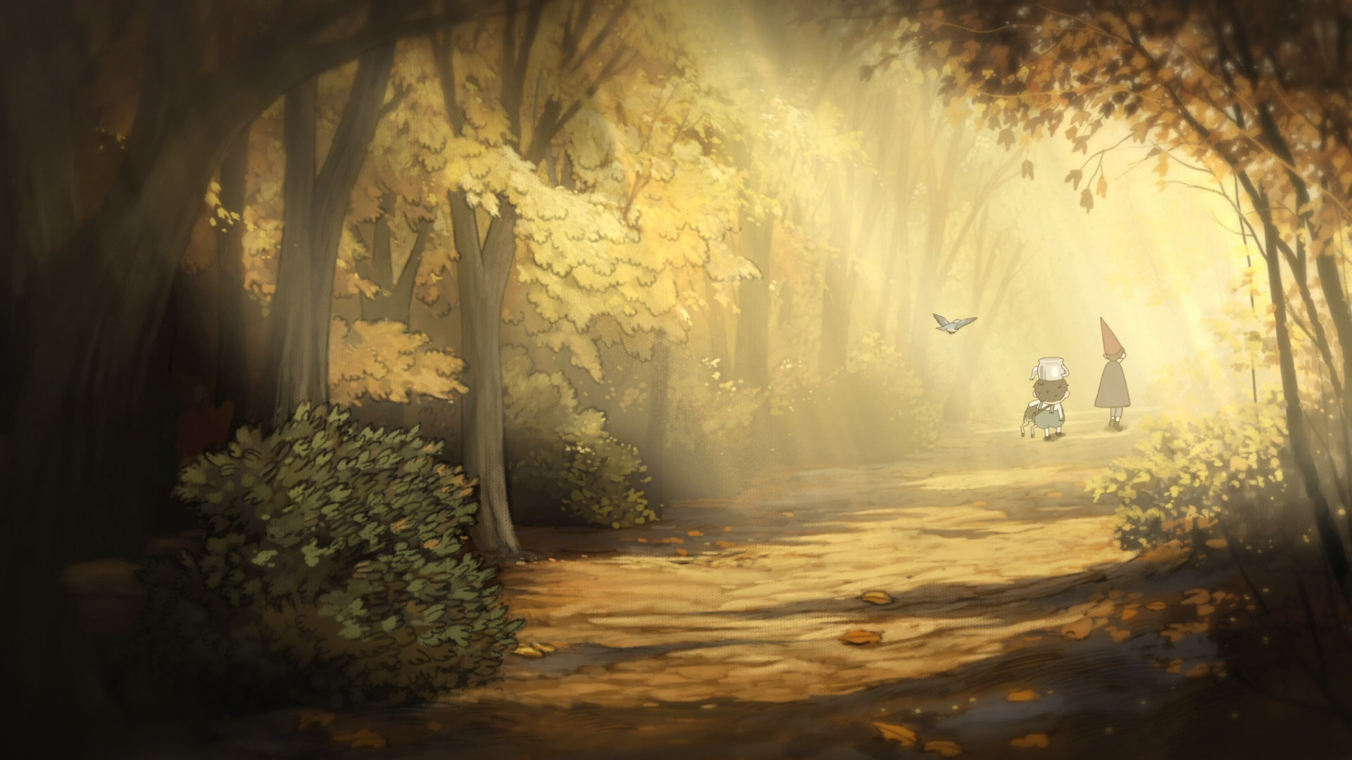 Over The Garden Wall images Overt the garden wall HD wallpaper and  background photos