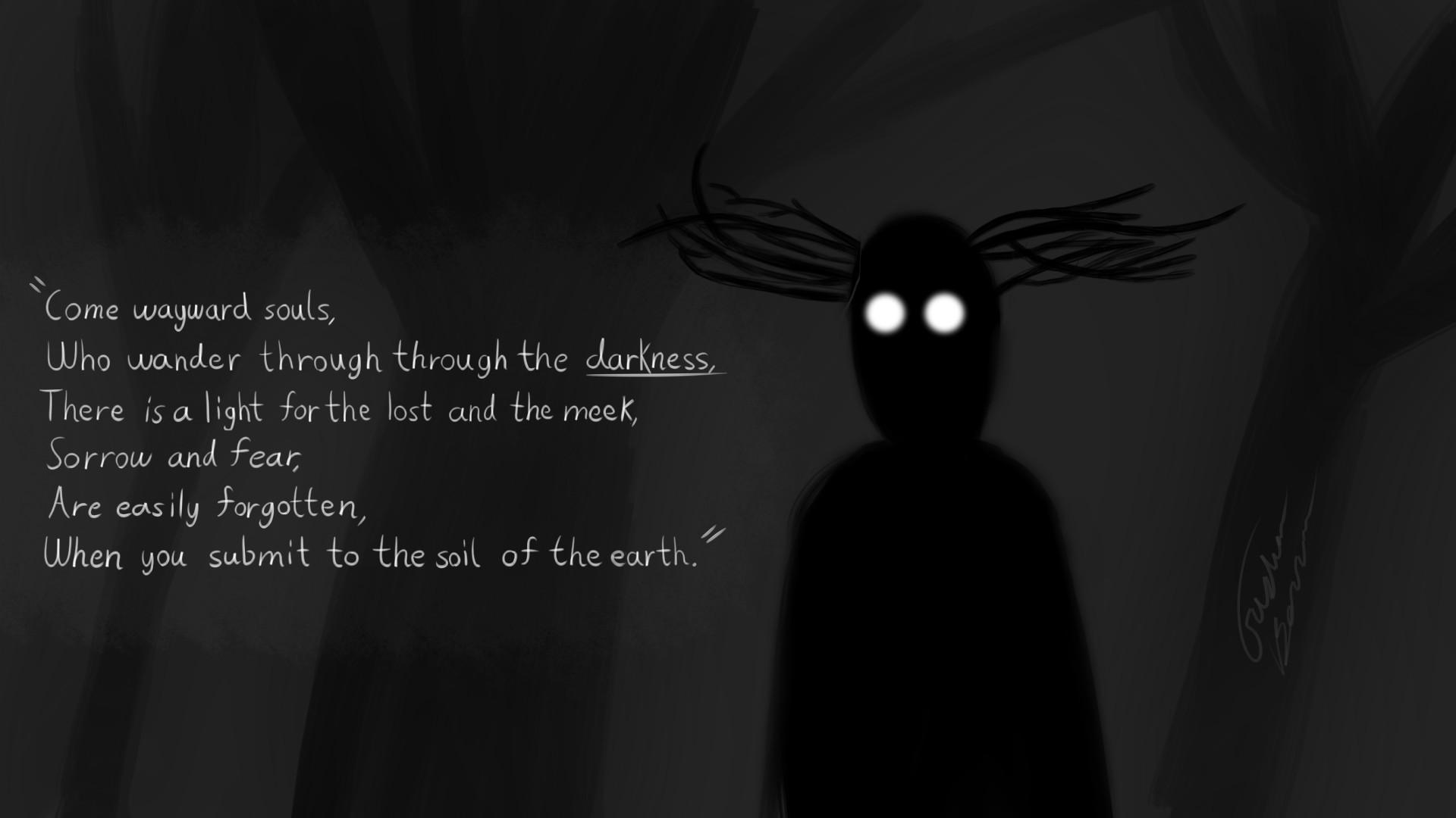 My Fan-Art of The Beast, Title: Come Wayward Souls …