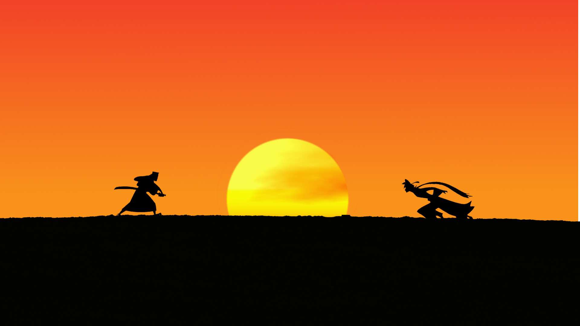 [Katanagatari] Samurai Jack, wielder of a legendary Shikizaki Deviant Blade  (1920×1080) …