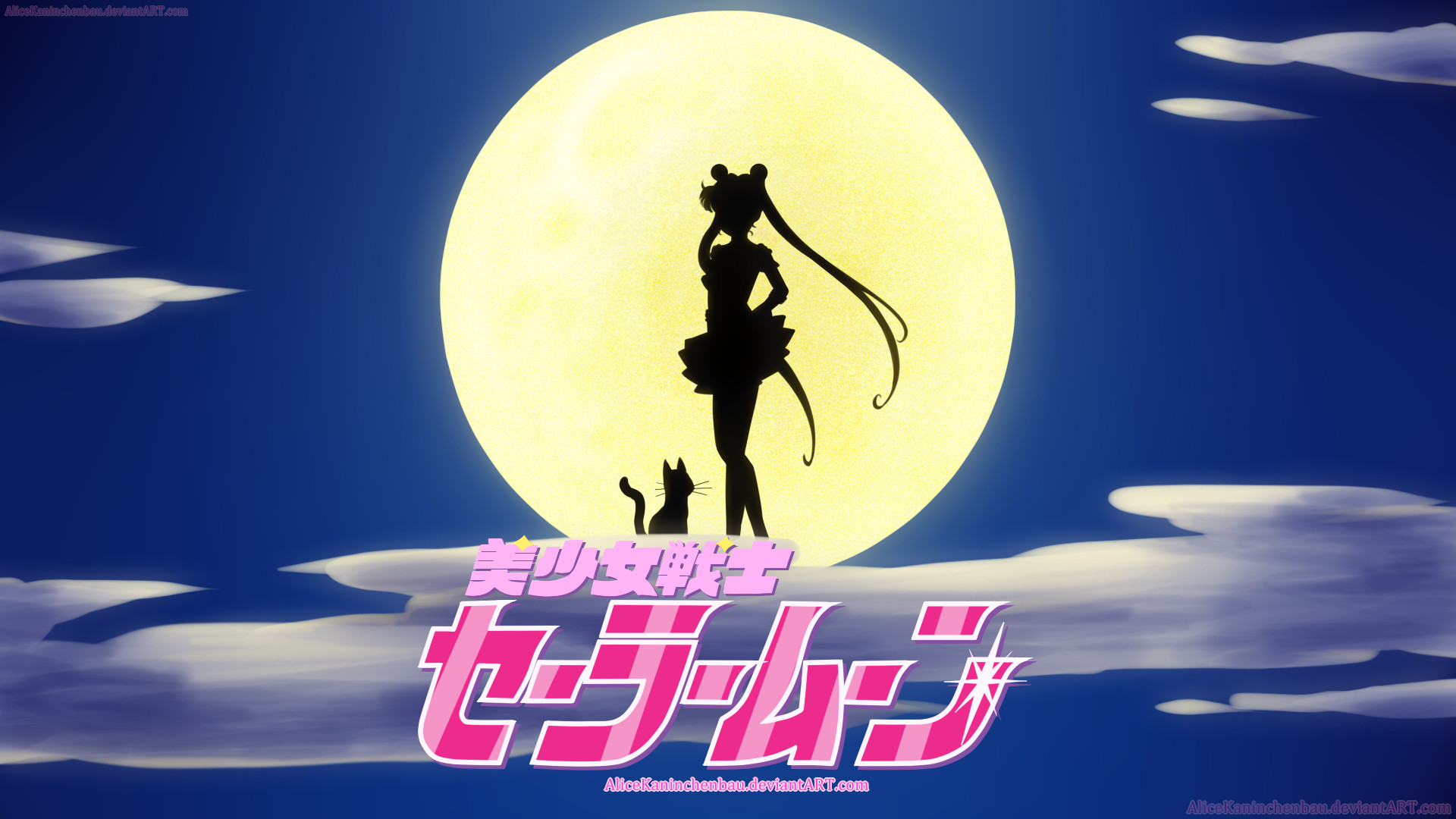 Classic Sailor Moon by AliceKaninchenbau