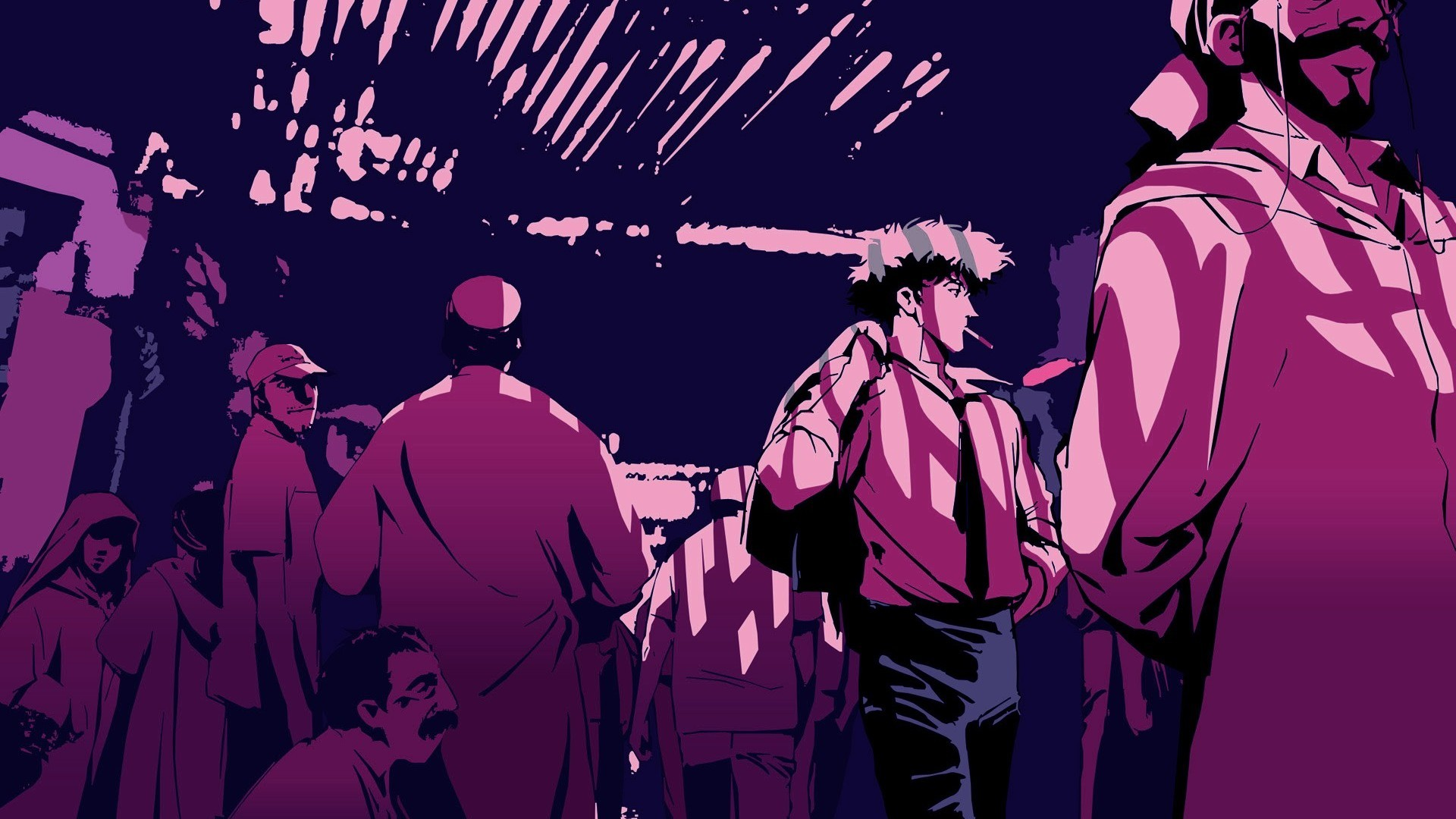 Anime – Cowboy Bebop Spike Spiegel Wallpaper