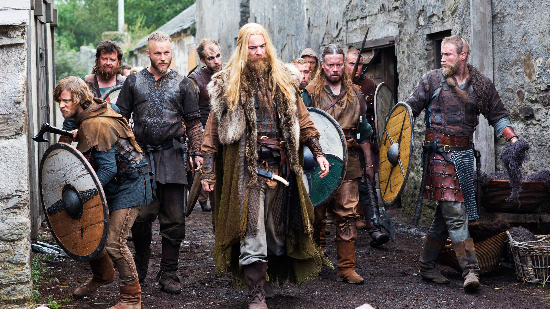 'The Vikings' Costume Designer Joan Bergin Dispels Norse Myths. Turns out  Vikings Were The First Metrosexuals.