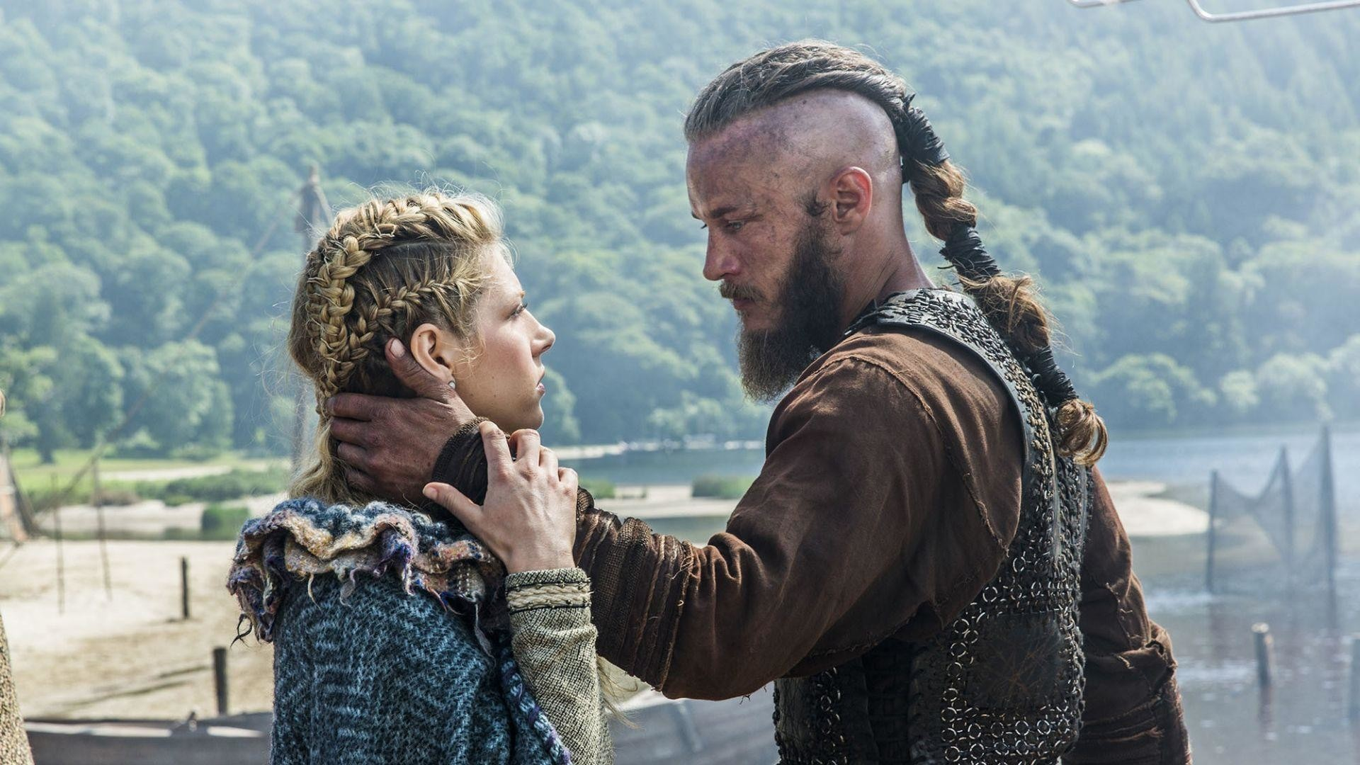 Download Wallpaper Vikings, Historical drama, Travis .