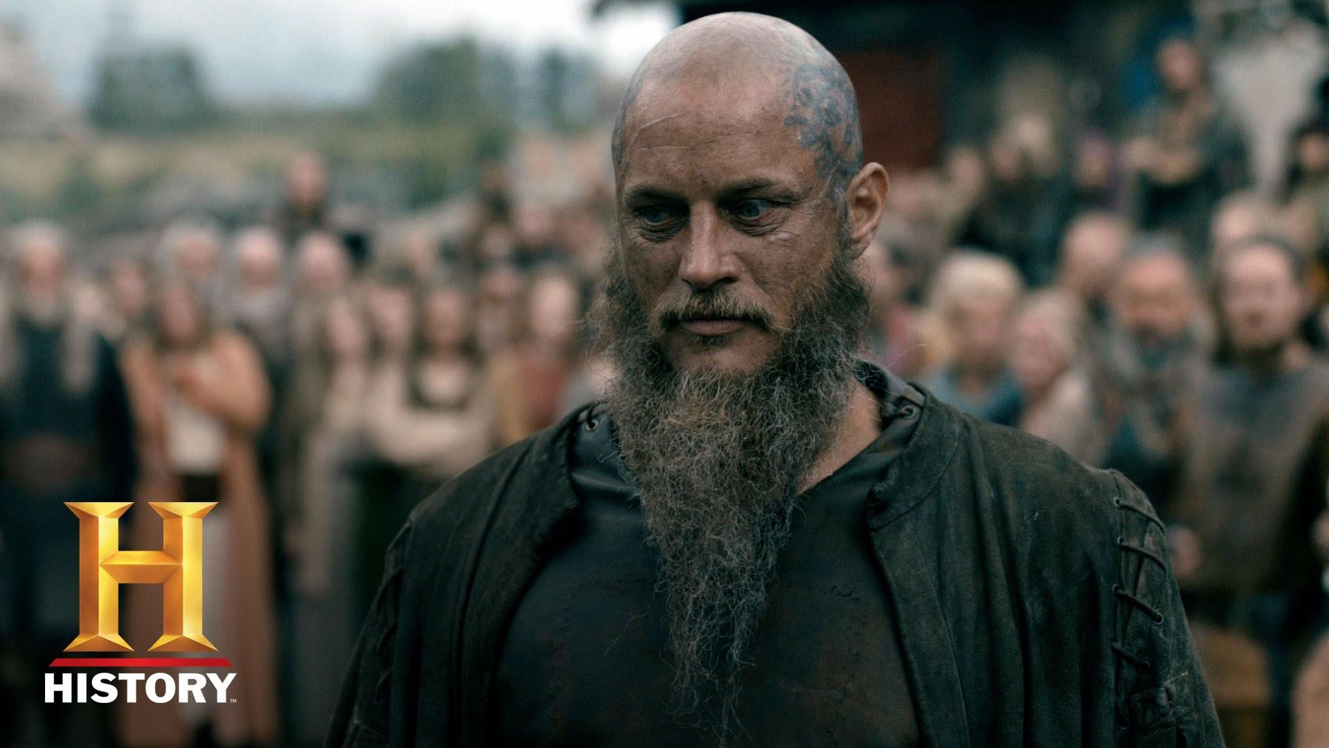 Vikings: Ragnar Returns to Kattegat (Season 4, Episode 10)   History –  YouTube