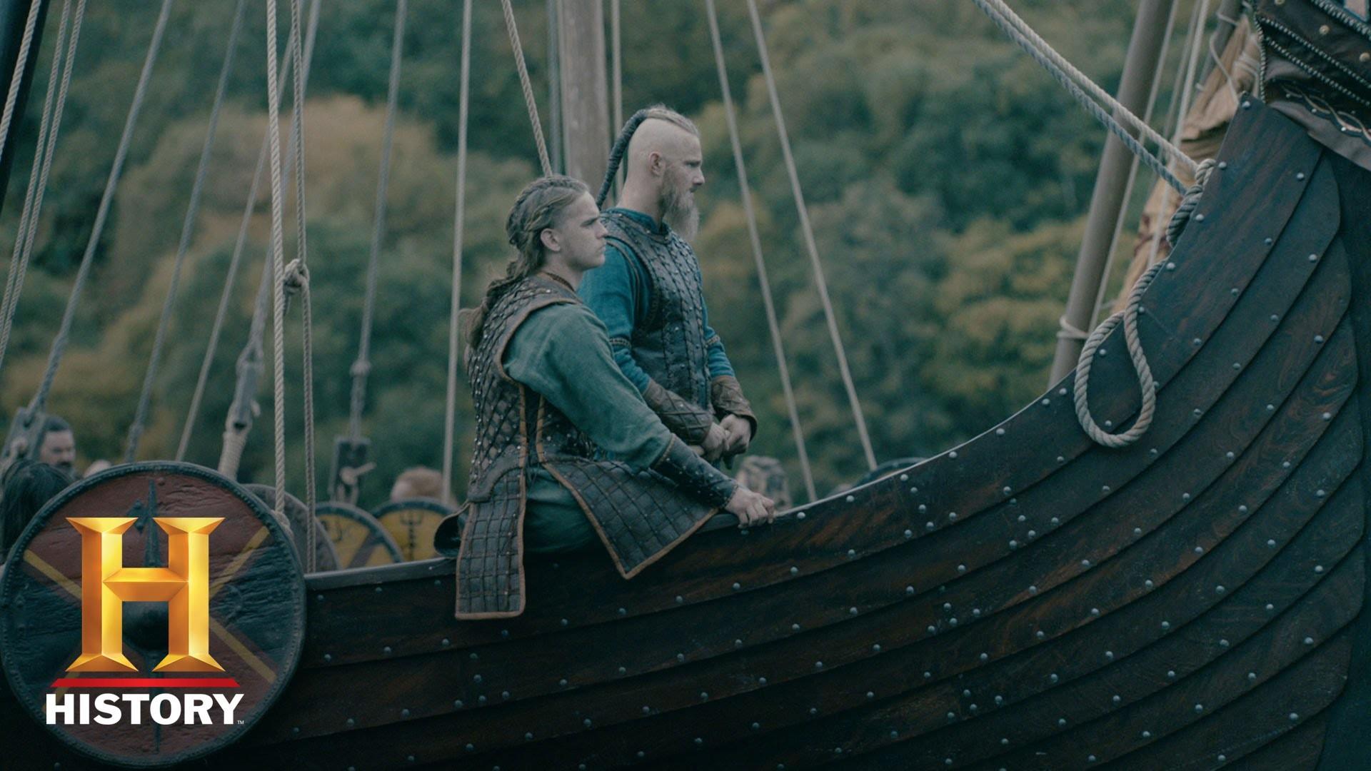 Vikings: Season 4 Character Catch-Up – Hvitserk (Marco Ilsø)   History –  YouTube