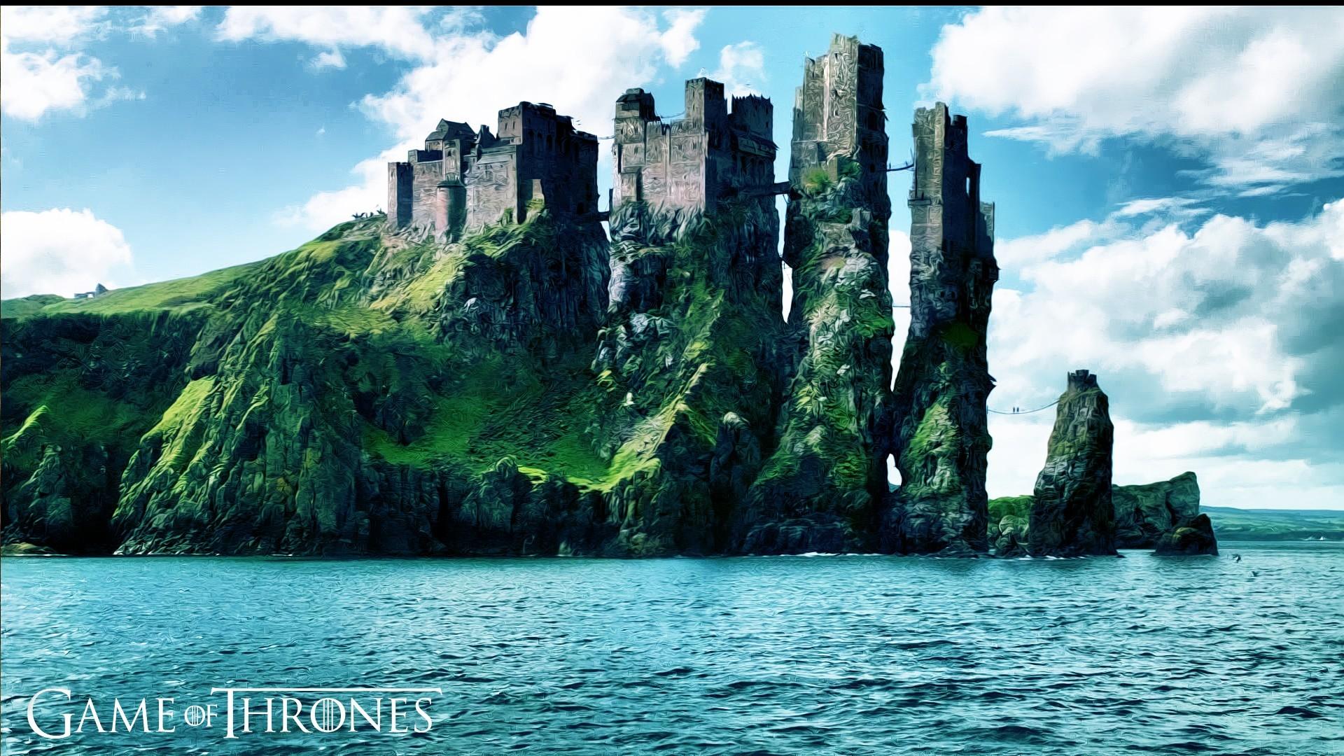 … wallpaper 7545; game of thrones fantasy art castle digital art tv coast  sea …