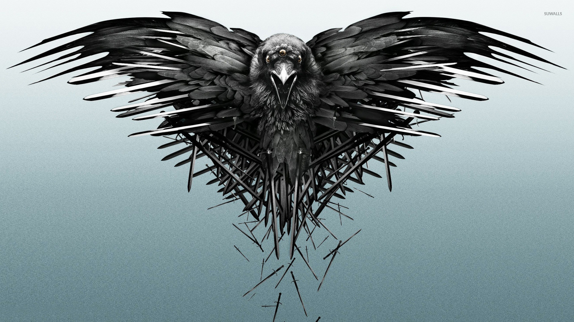 The three-eyed raven – Game of Thrones wallpaper jpg