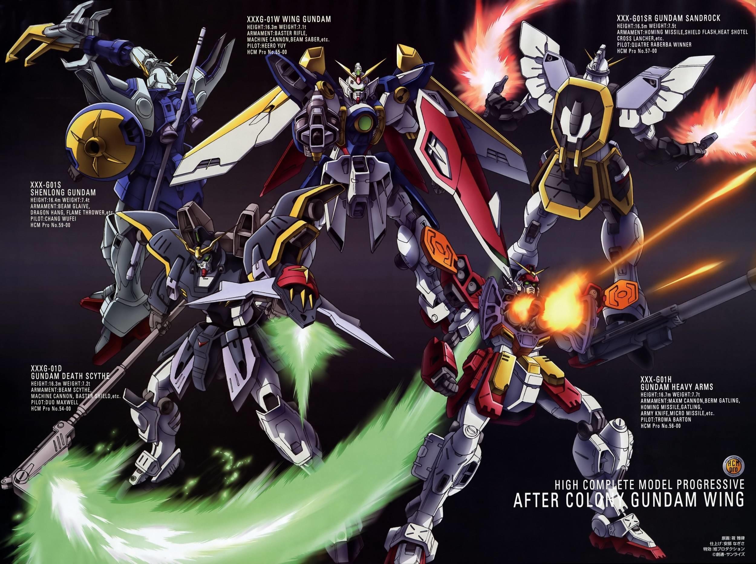 Gundam Wing 2500×1864 Wallpaper 916560
