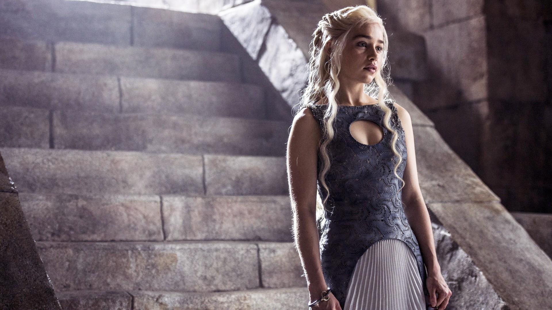 Wallpaper Emilia Clarke, Daenerys Targaryen, Game of Thrones, 4K, TV  Series, #344