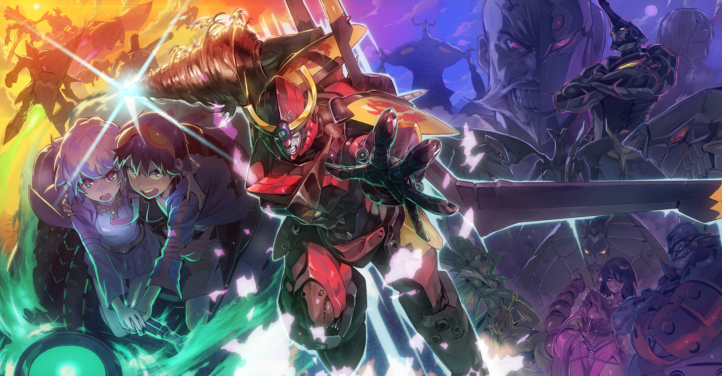Tengen Toppa Gurren Lagann wallpapers and background images for desktop,  iPhone, Android and any screen resolution.