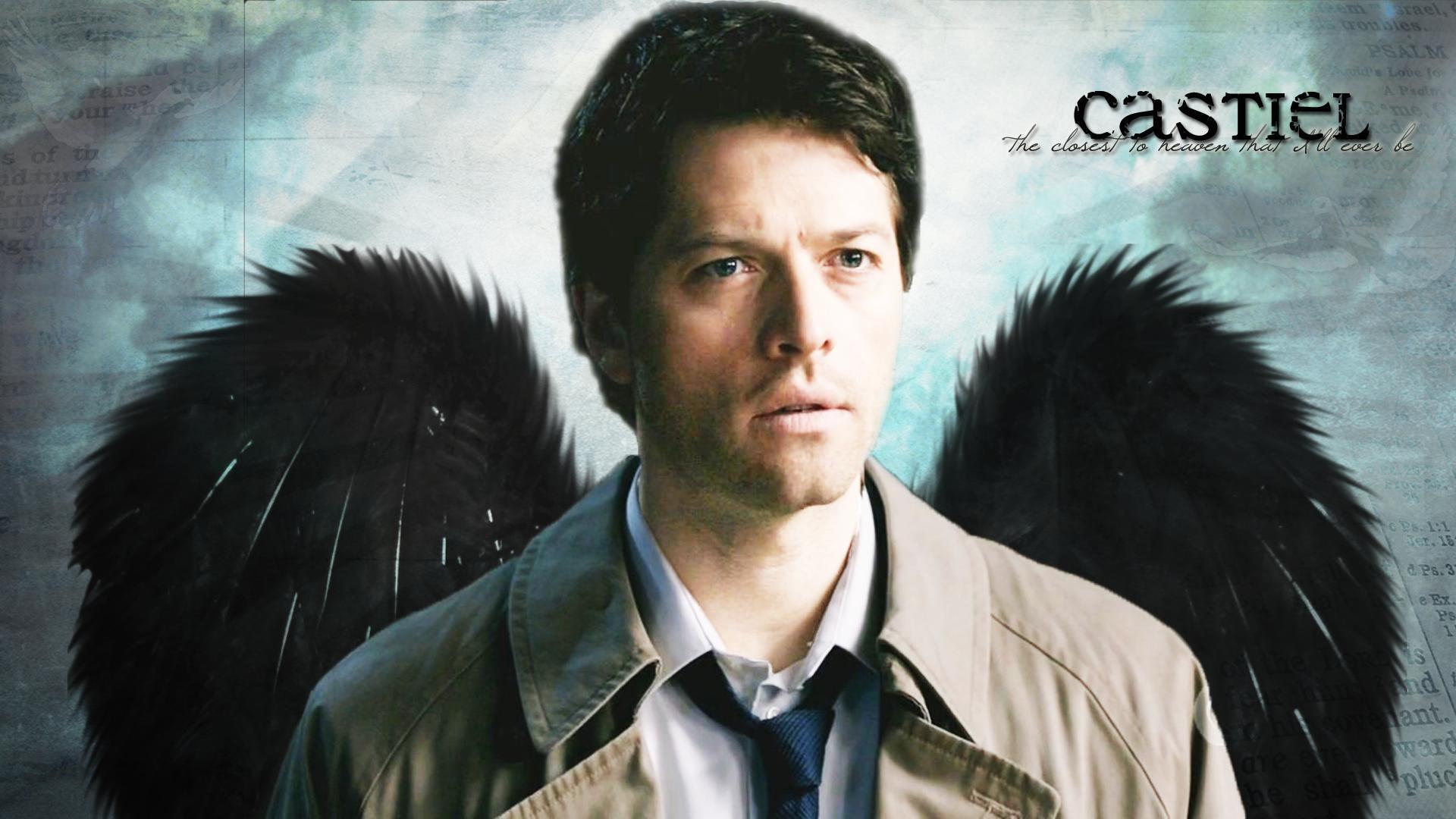 Images For > Supernatural Castiel Iphone Wallpaper