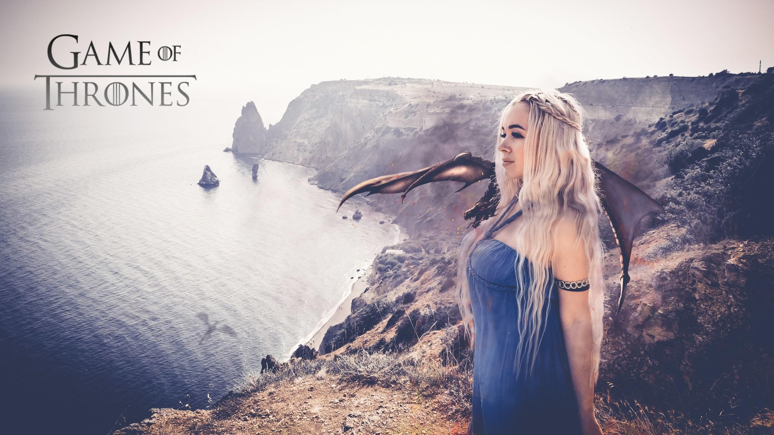 Women – Cosplay Game Of Thrones Daenerys Targaryen Wallpaper