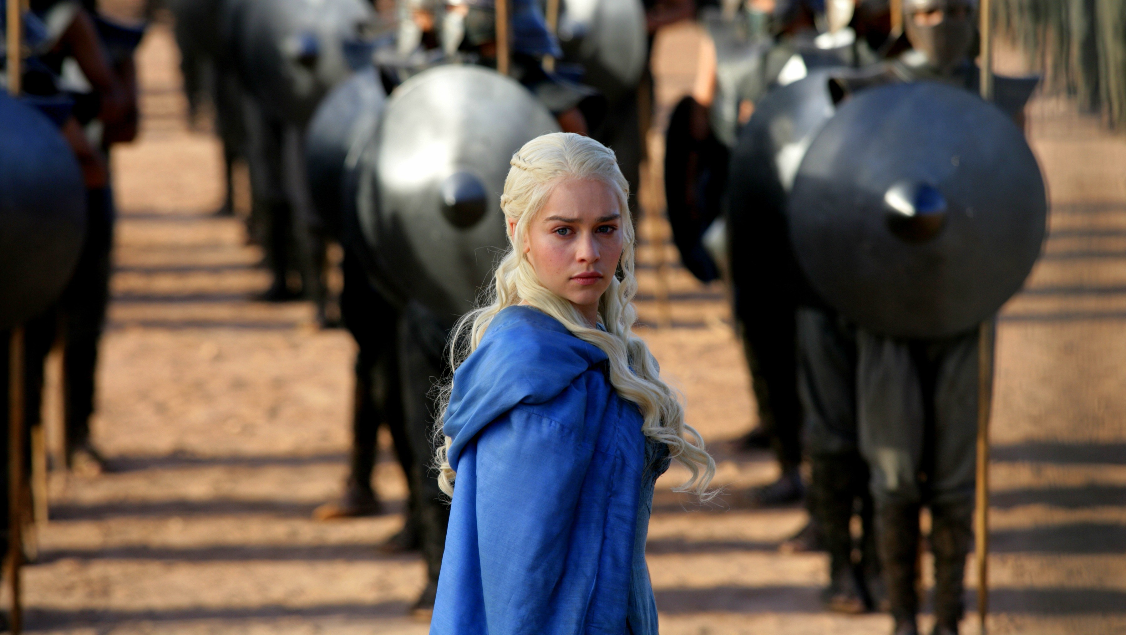 Daenerys Targaryen, Game Of Thrones, Blue Clothes Wallpapers HD / Desktop  and Mobile Backgrounds