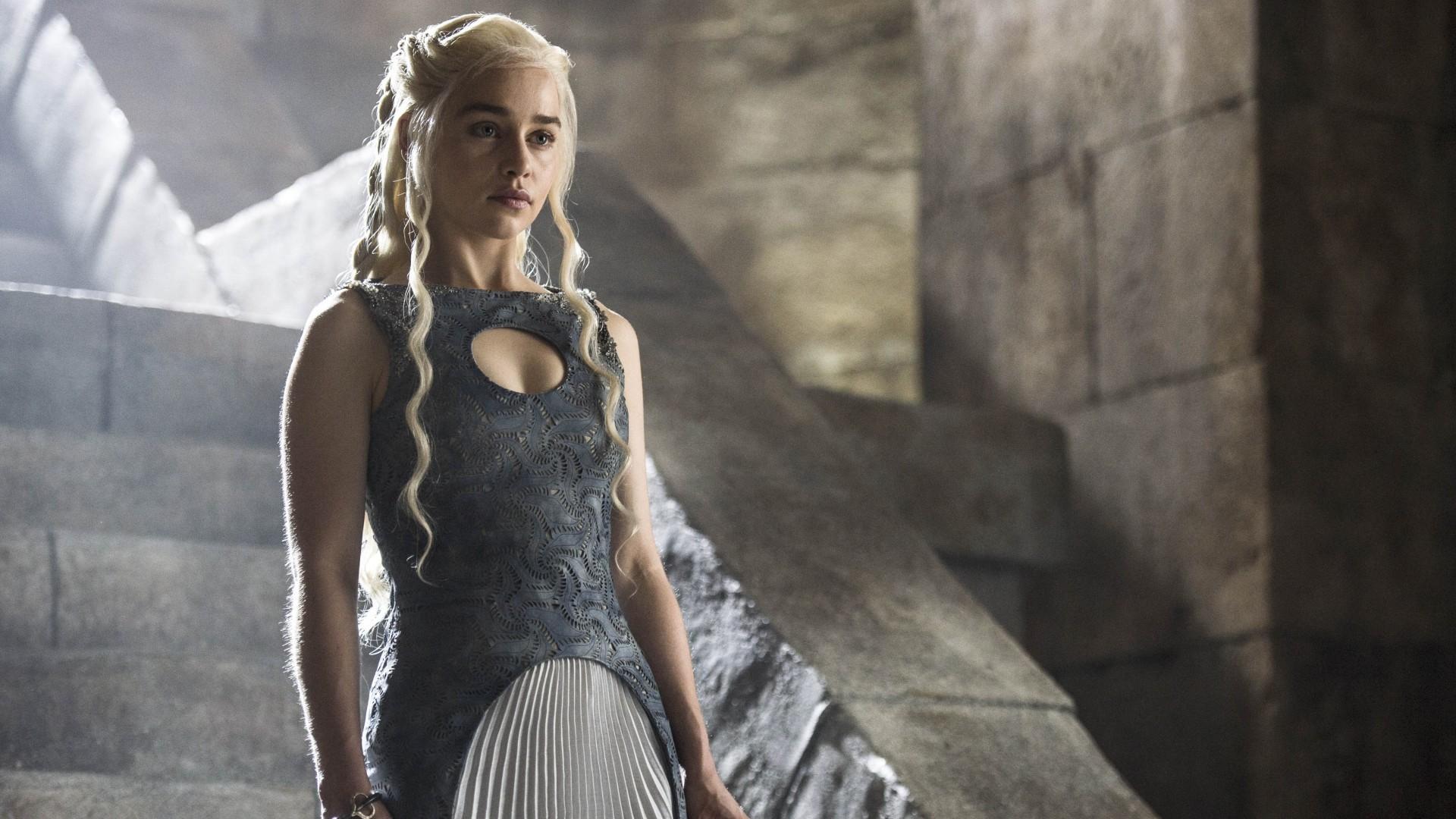 Wallpaper Daenerys Targaryen, Season 4, Game of Thrones, Emilia Clarke, 4K,  TV Series, #1123