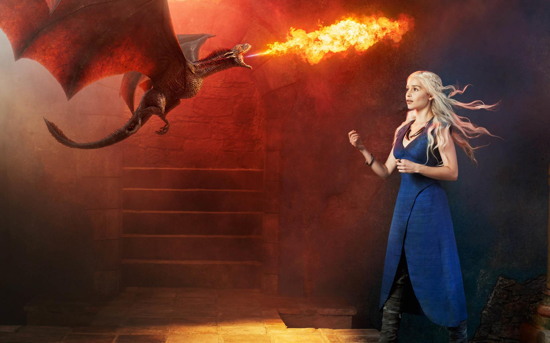 Daenerys Targaryen Mother of Dragons wallpaper