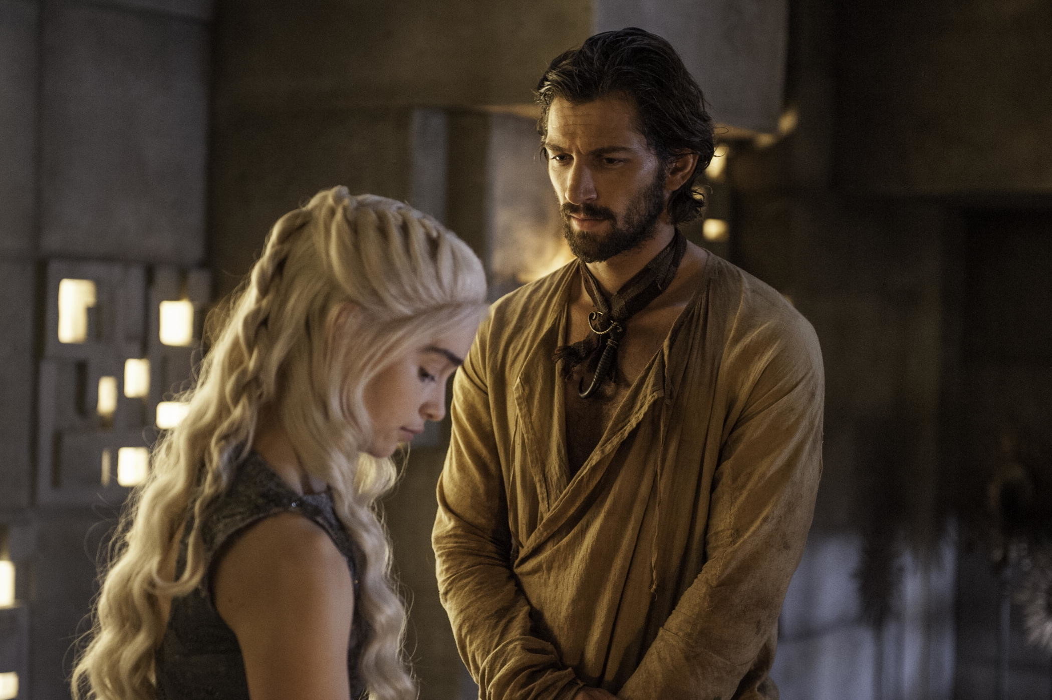 Daario Naharis images Daario Naharis and Daenerys Targaryen HD wallpaper  and background photos