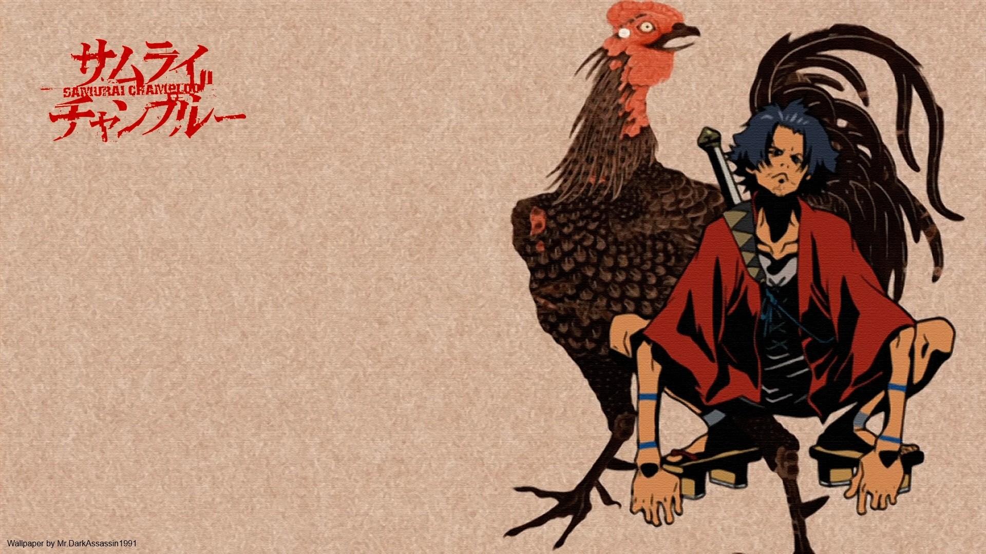 samurai champloo; mugen