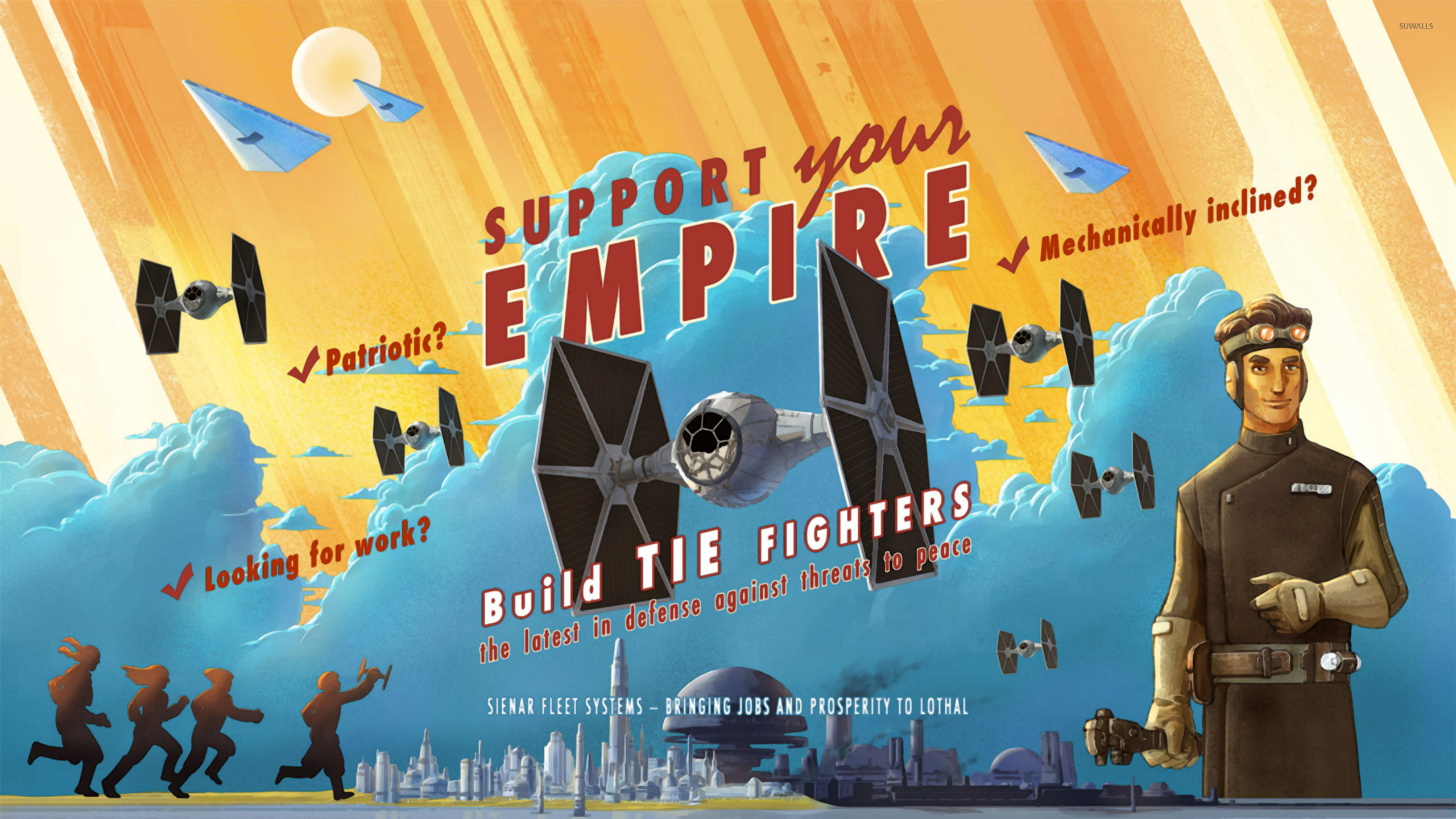 Star Wars Rebels propaganda poster wallpaper jpg