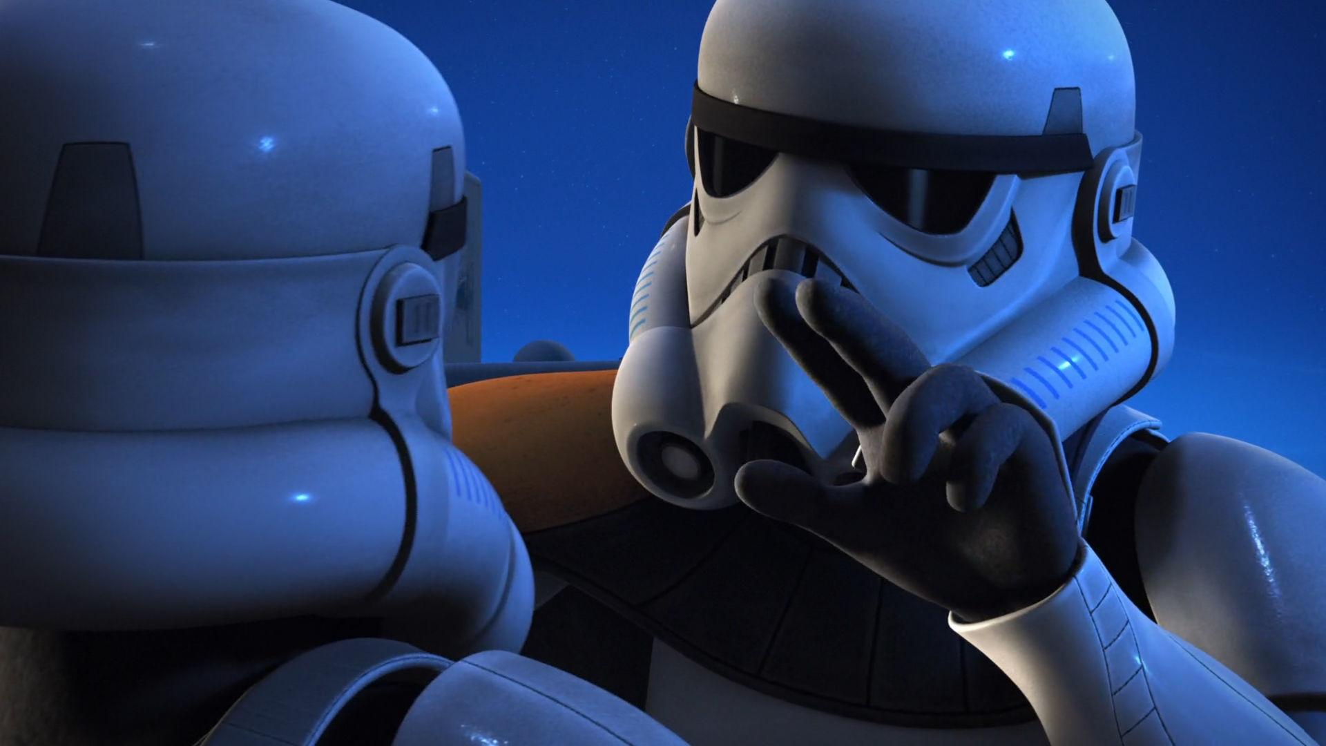 TV Show – Star Wars Rebels Stormtrooper Wallpaper