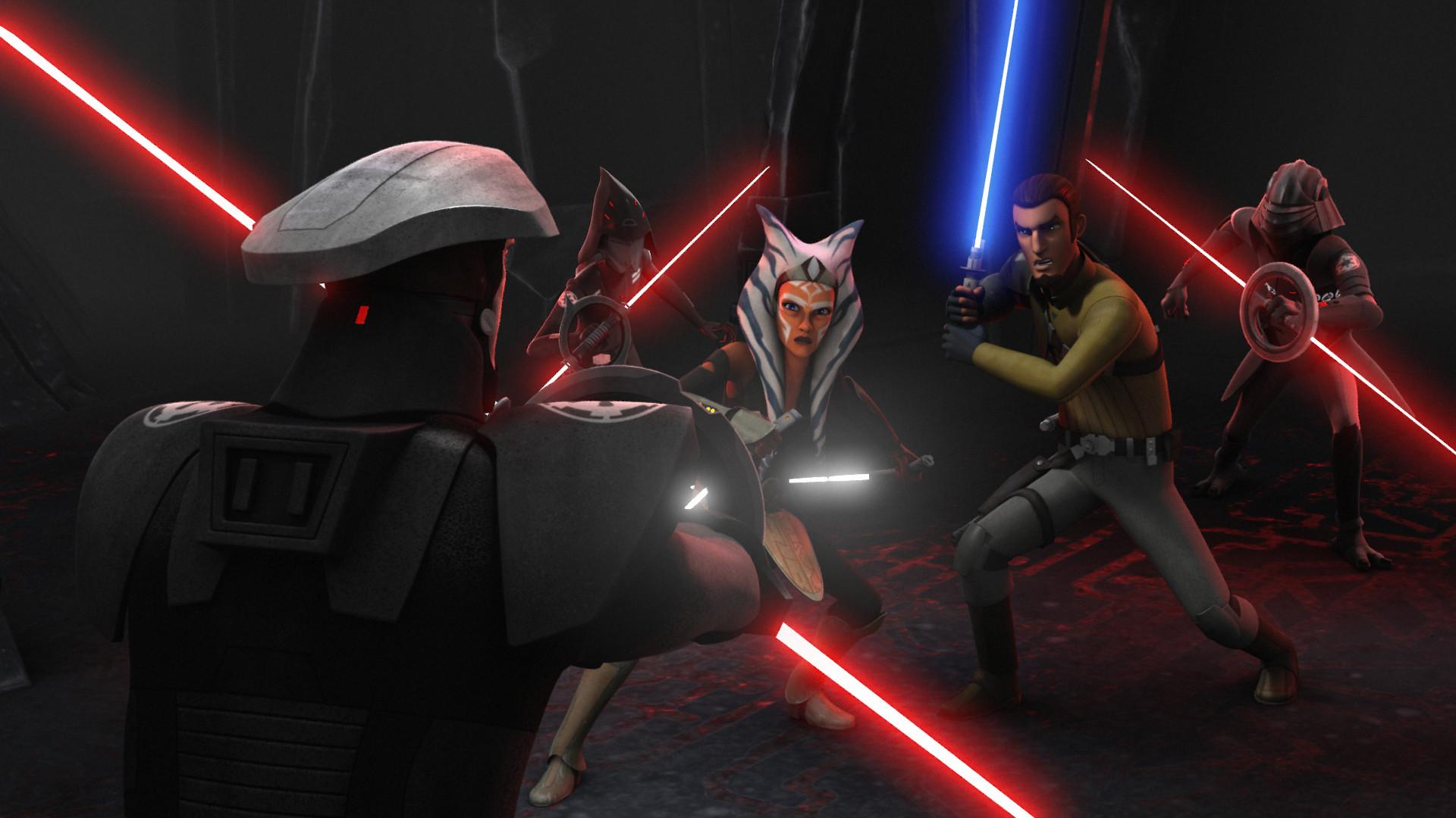 STAR WARS REBELS Season 2 Finale Recap: Ahsoka Confronts Darth Vader |  Nerdist
