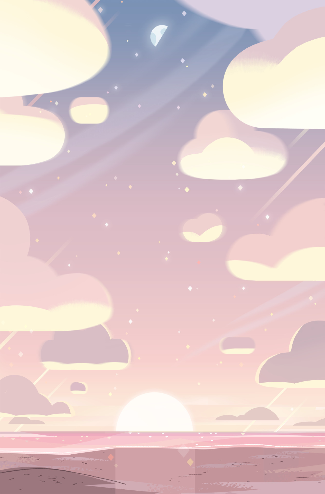 Steven Crewniverse Behind-The-Scenes Universe: A selection of Backgrounds  from the Steven