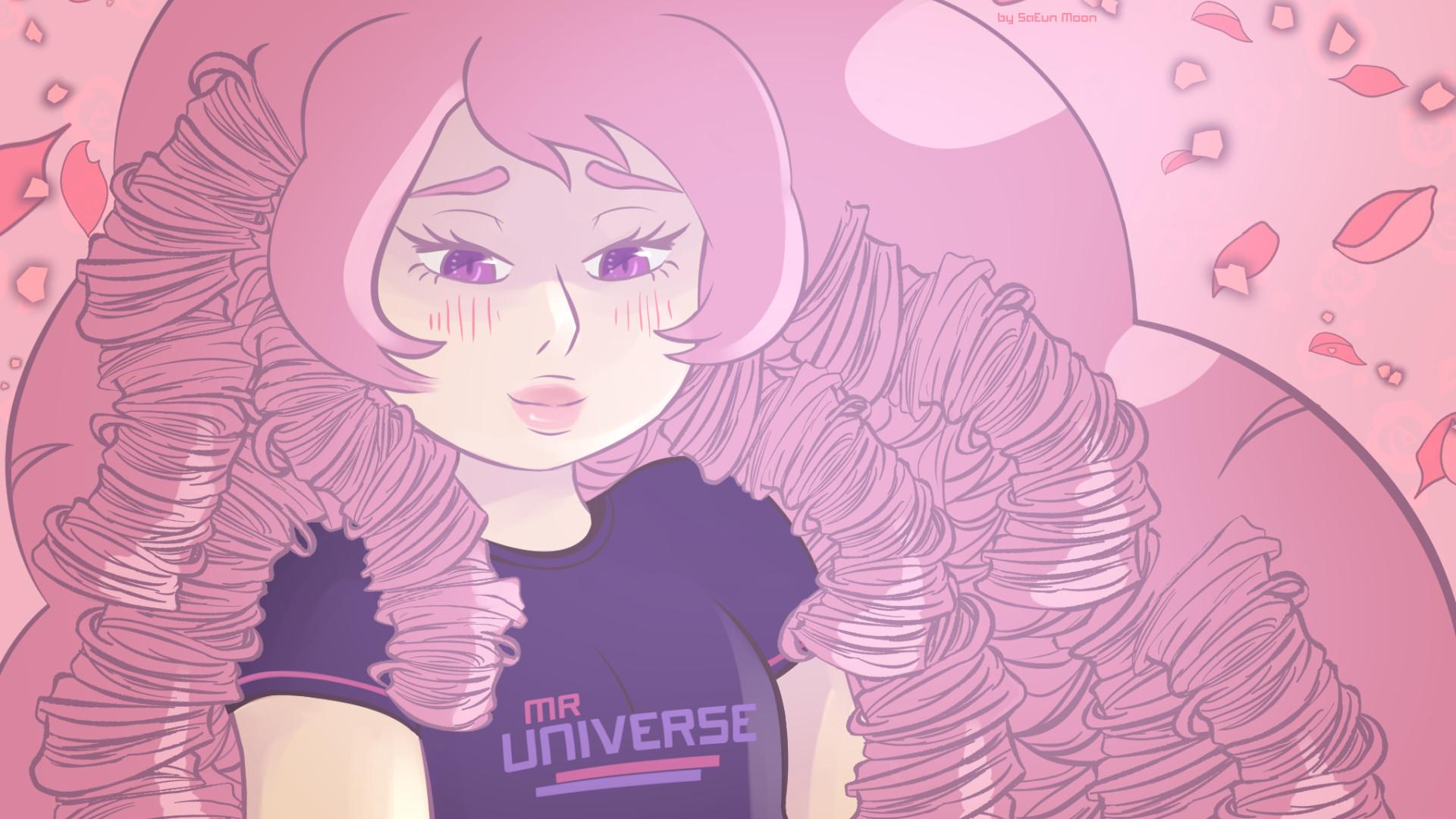 Rose Quartz Desktop Wallpaper by SaEun on DeviantArt