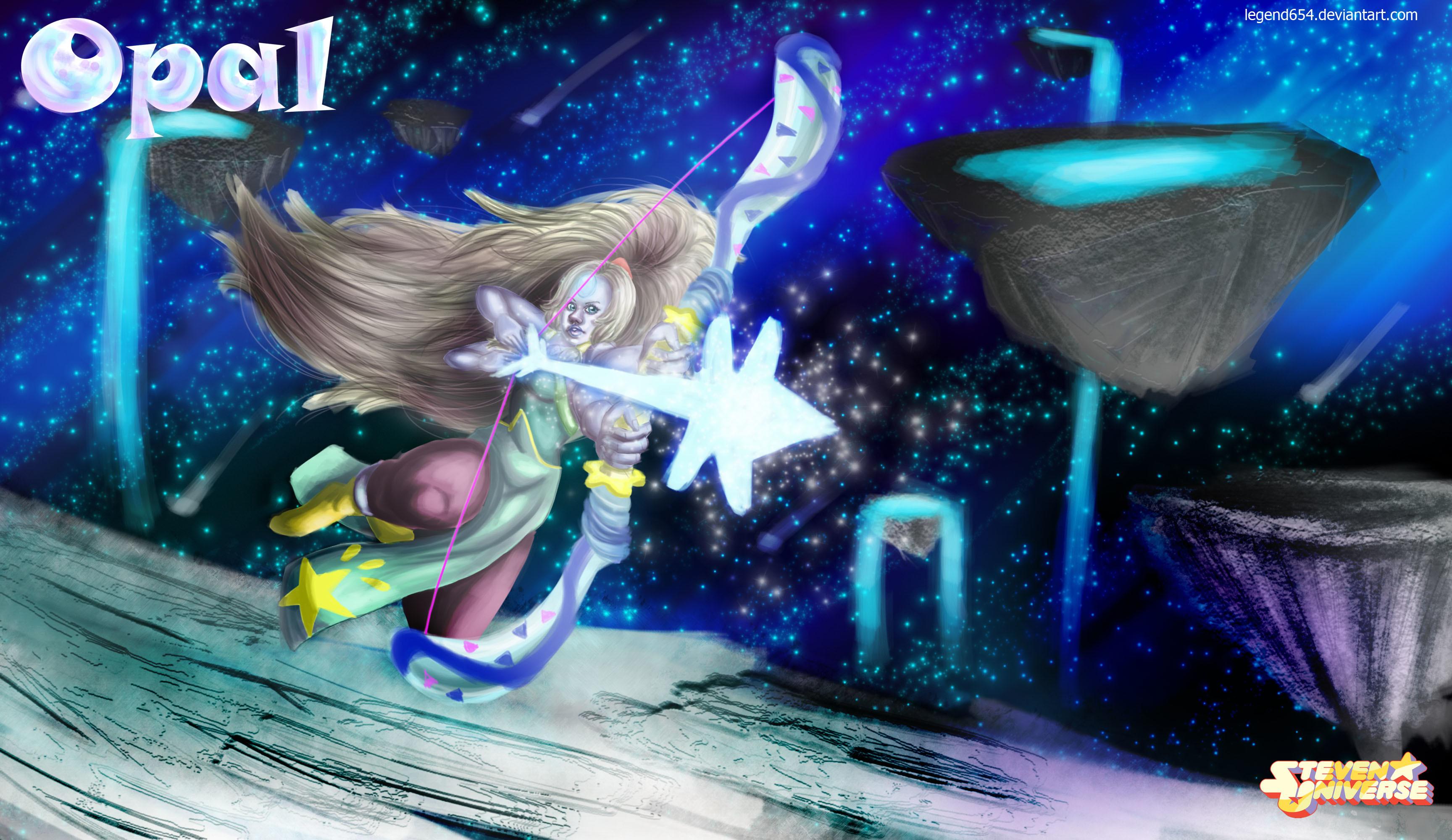 Steven Universe Opal wallpaper by legend654 Steven Universe Opal wallpaper  by legend654