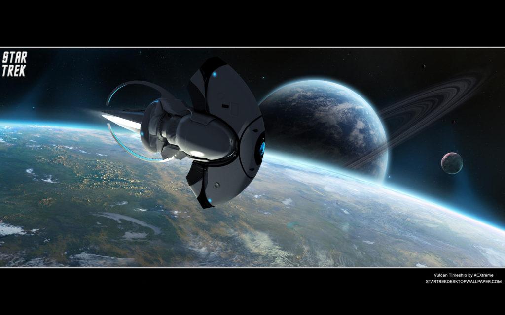 Star Trek Vulcan Timeship. Free Star Trek computer desktop wallpaper, images,  pictures download