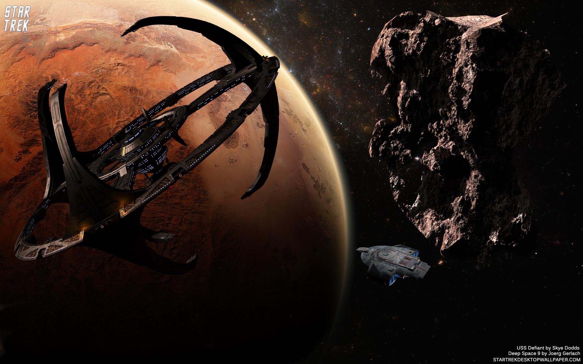 Star Trek Terok Nor Space Station – free Star Trek computer desktop  wallpaper, pictures