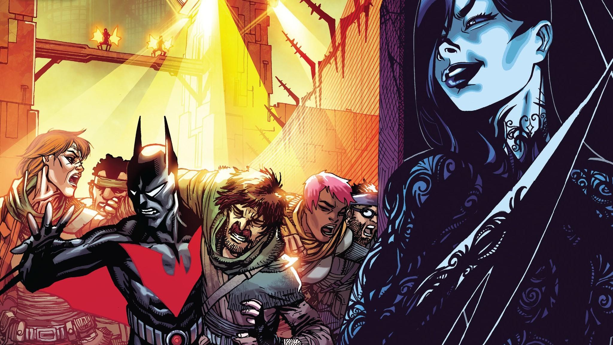 batman beyond wallpaper free hd widescreen (Gray Robertson 2048×1152)