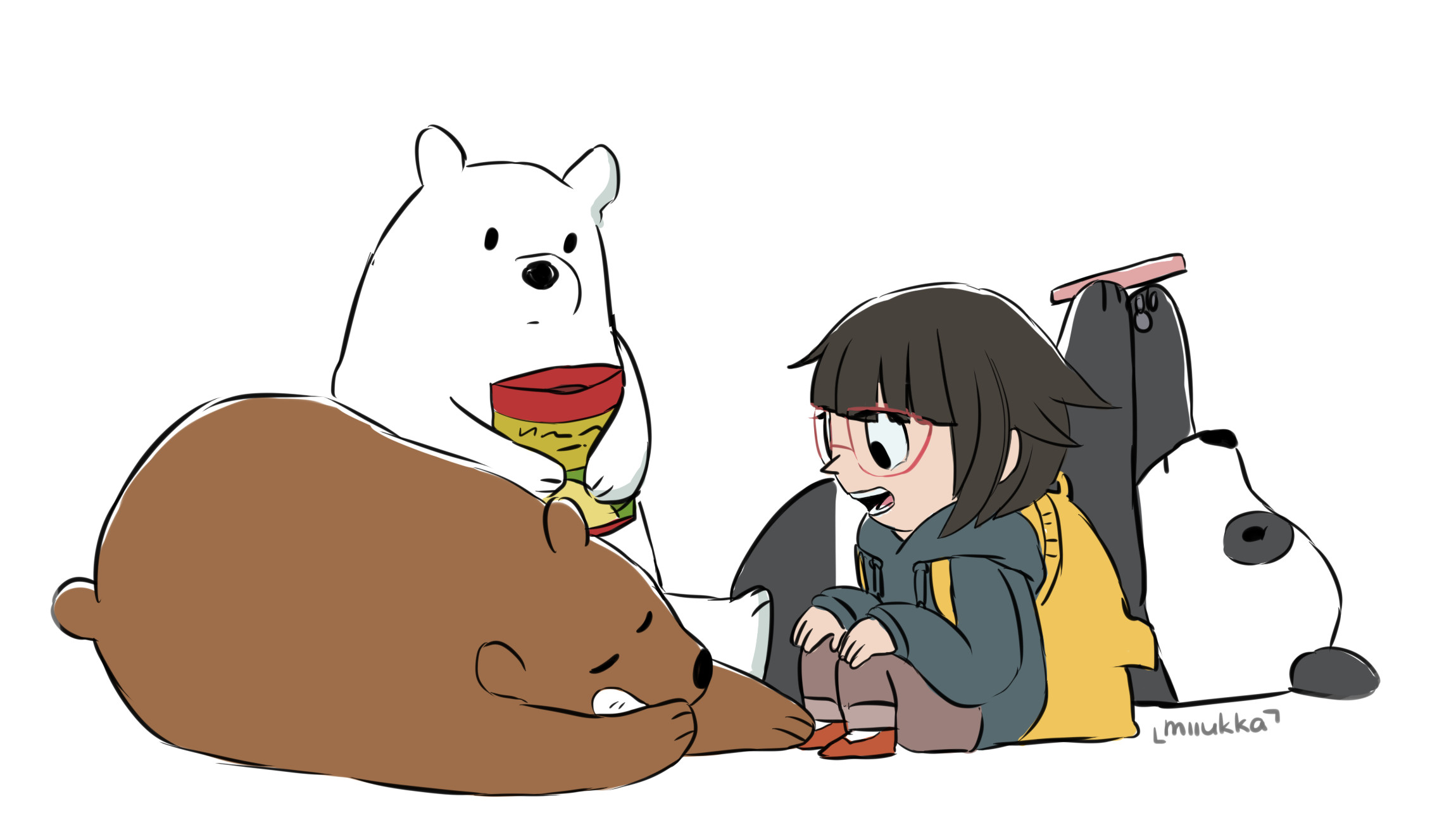 We Bare Bears by Miiukka We Bare Bears by Miiukka