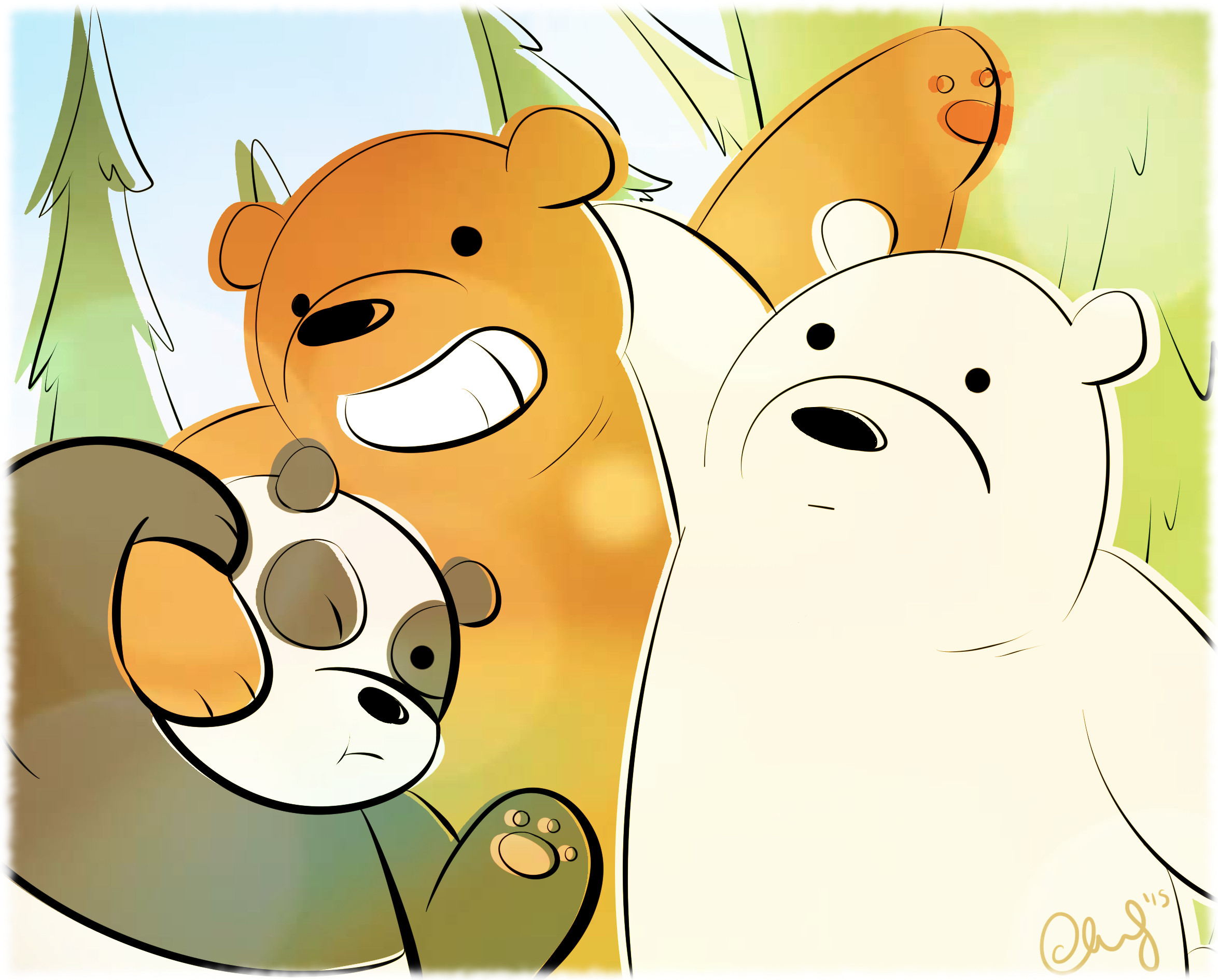 We Bare Bears by ccucco We Bare Bears by ccucco