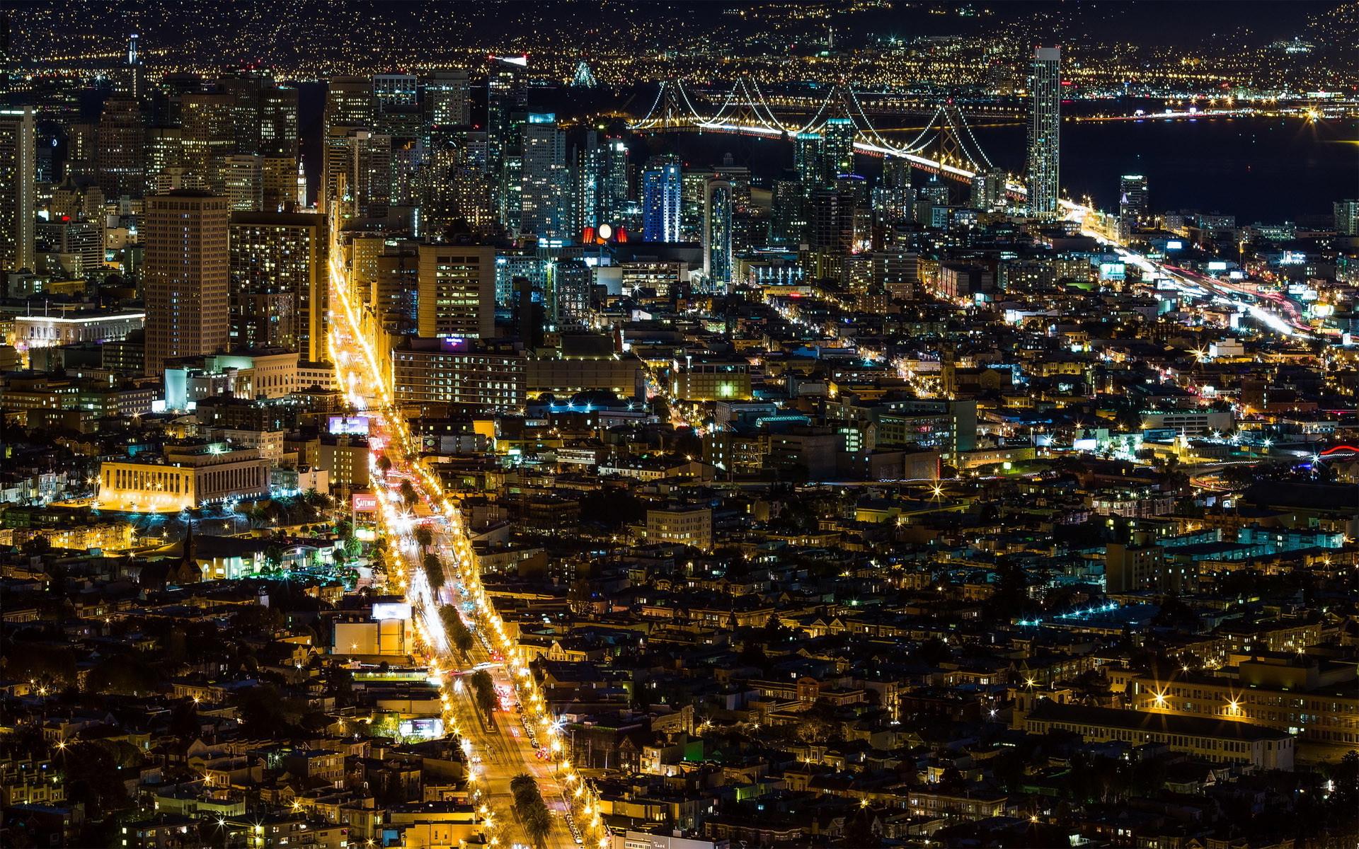Twin Peaks San Francisco HD Wallpaper