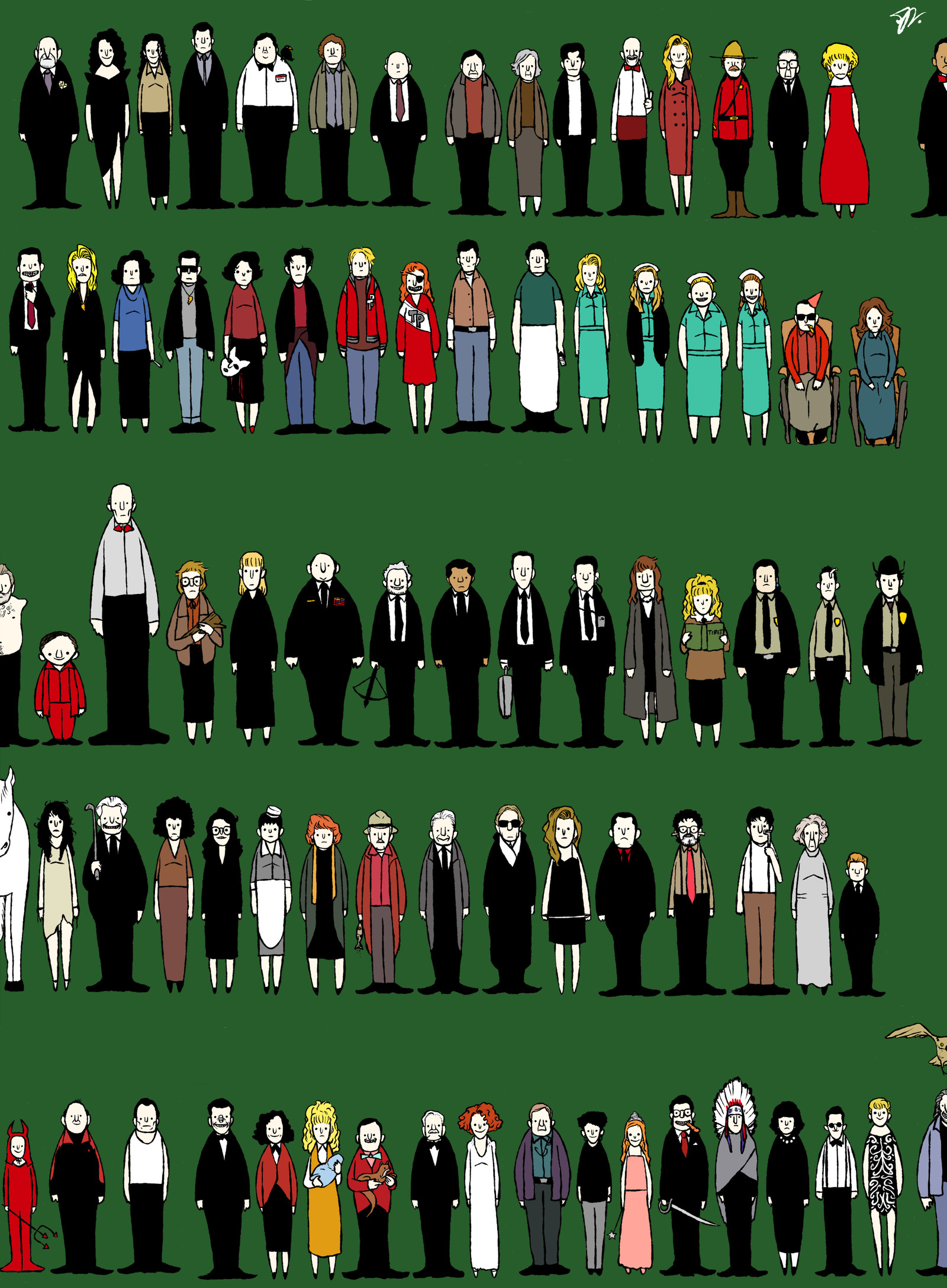 … Twin Peaks Characters by Sit-by-Me-and-sea