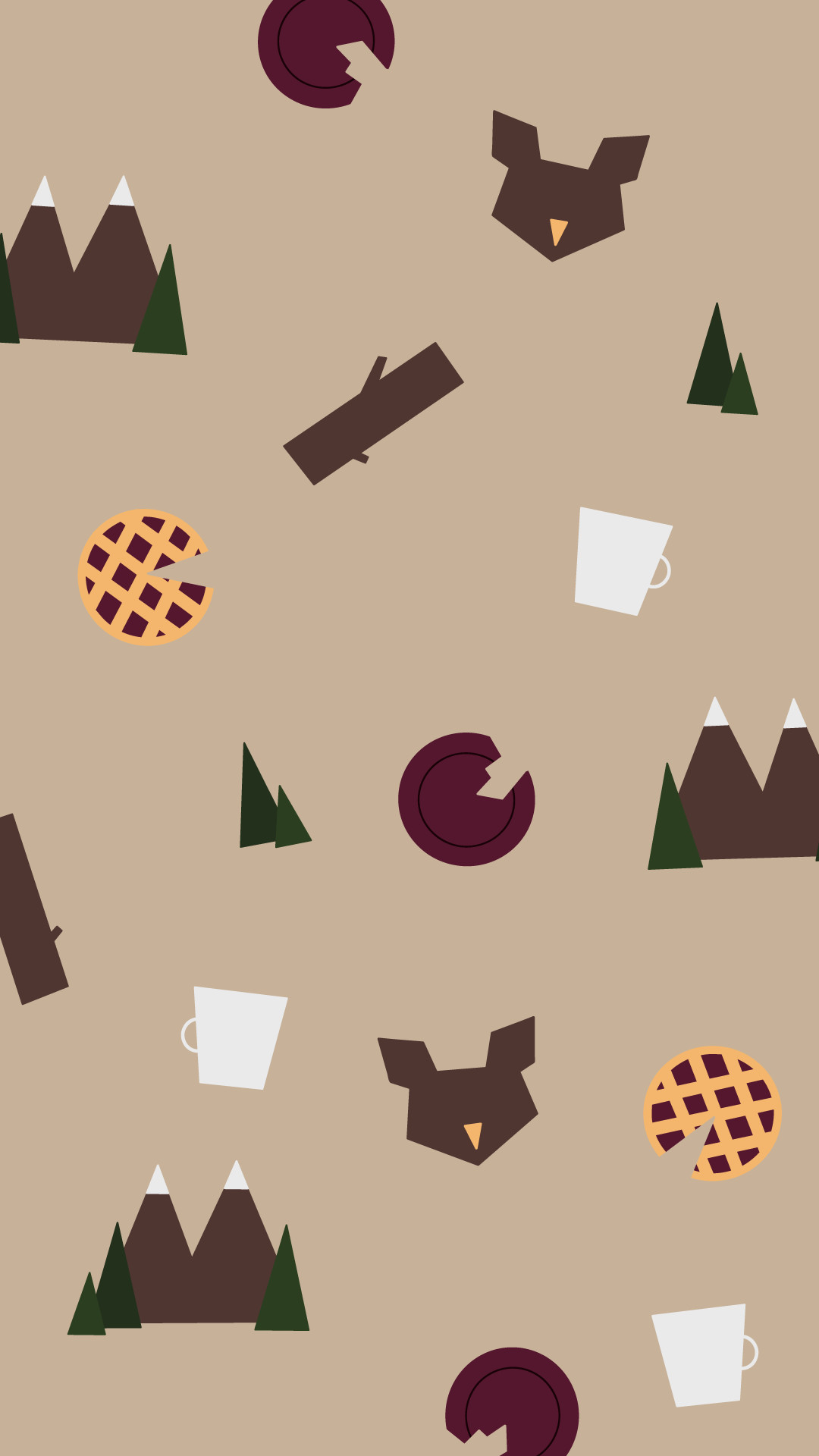 Free Twin Peaks inspired wallpapers cause I'm a beautiful human being