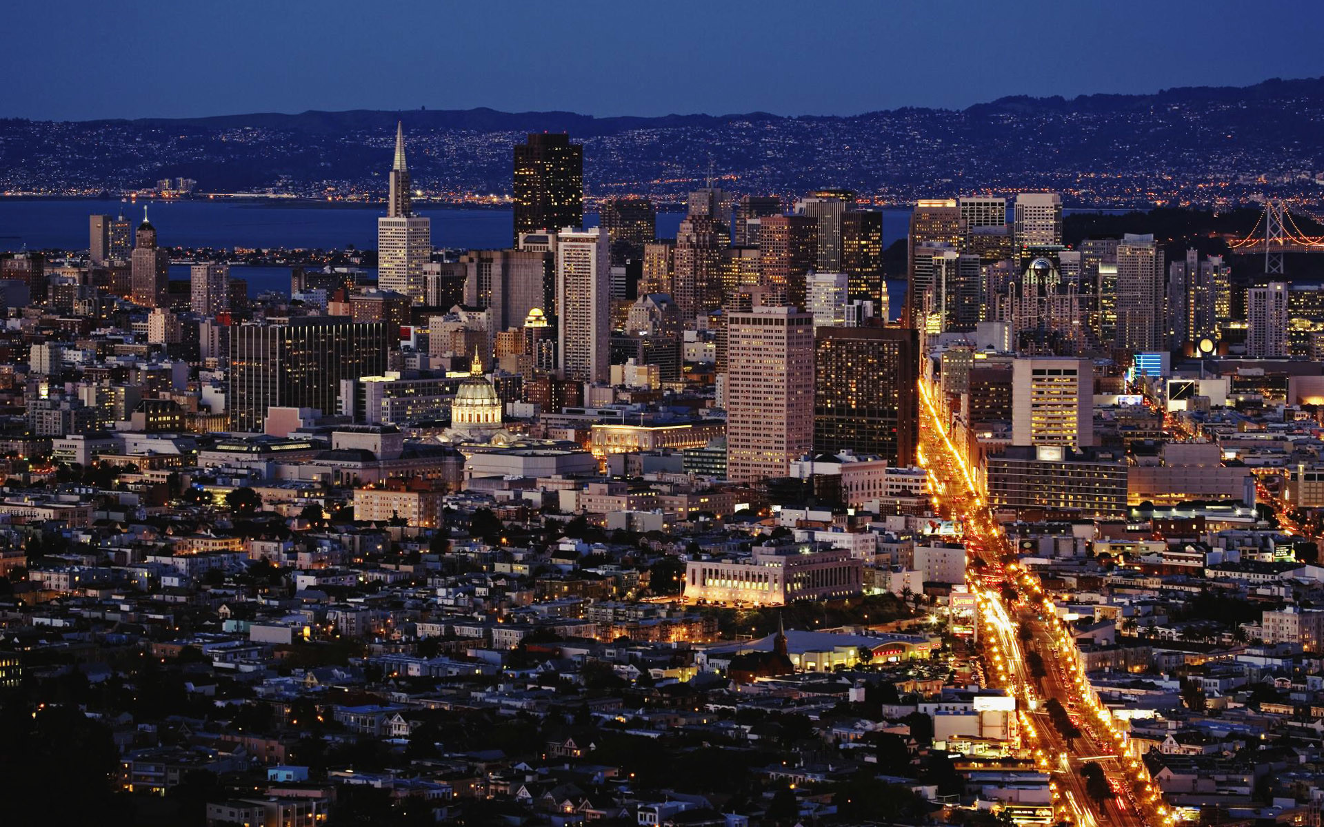 Daily Wallpaper: San Francisco from Twin Peaks | I Like To Waste My Time