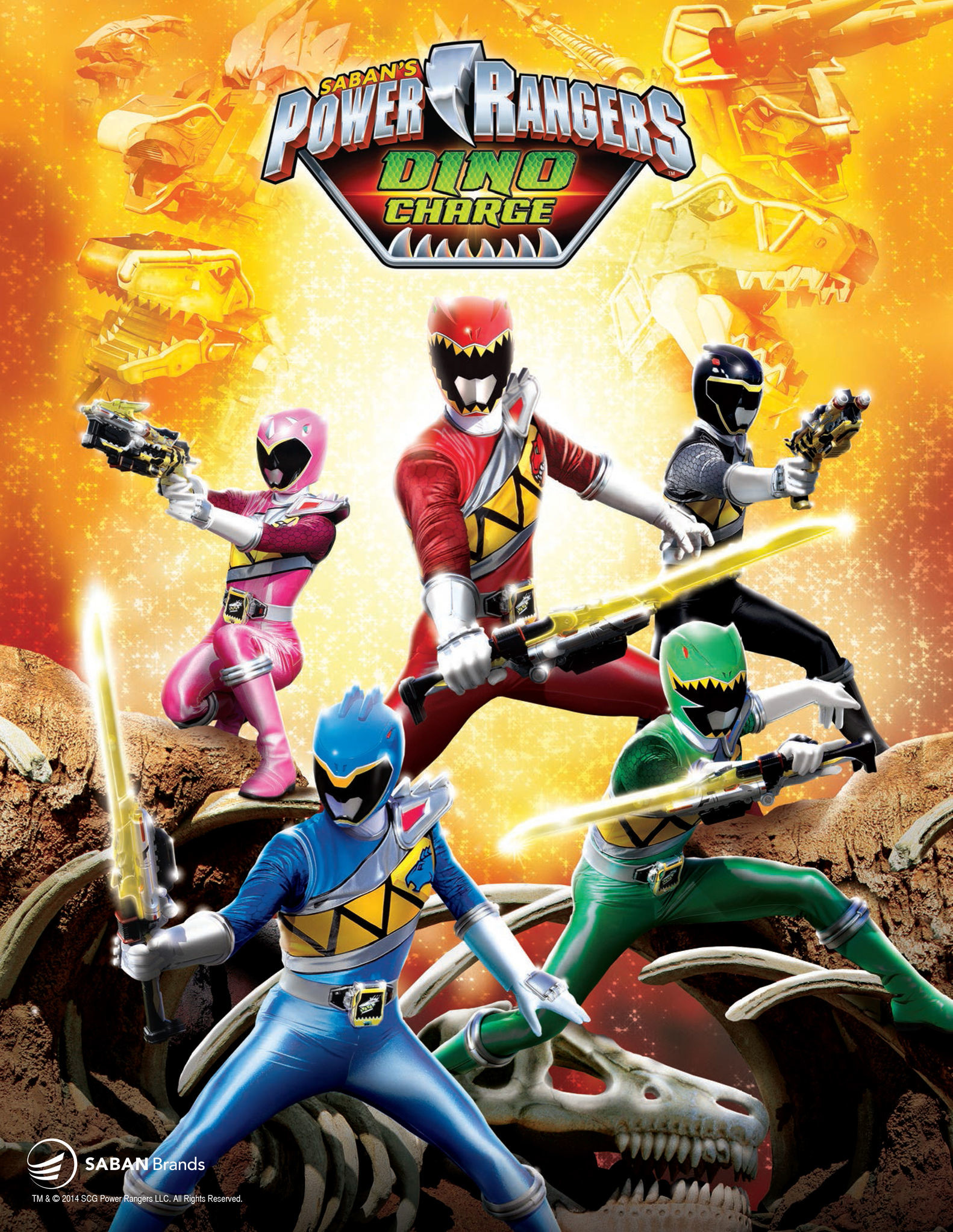 """Saban Brands Announces """"Power Rangers Dino Charge"""" for 2015"""