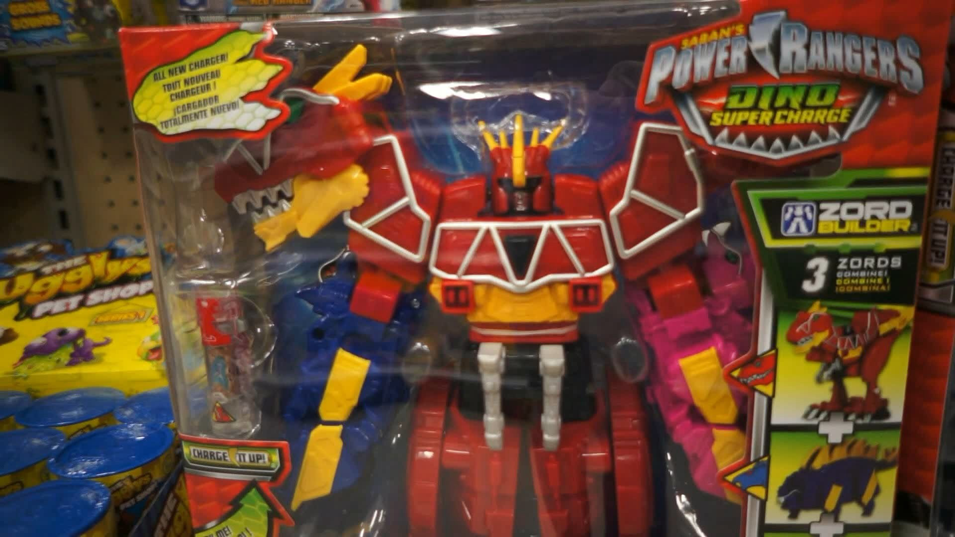 Power Rangers Dino Super Charge Toys at Target Store #1 (December 2015) –  YouTube