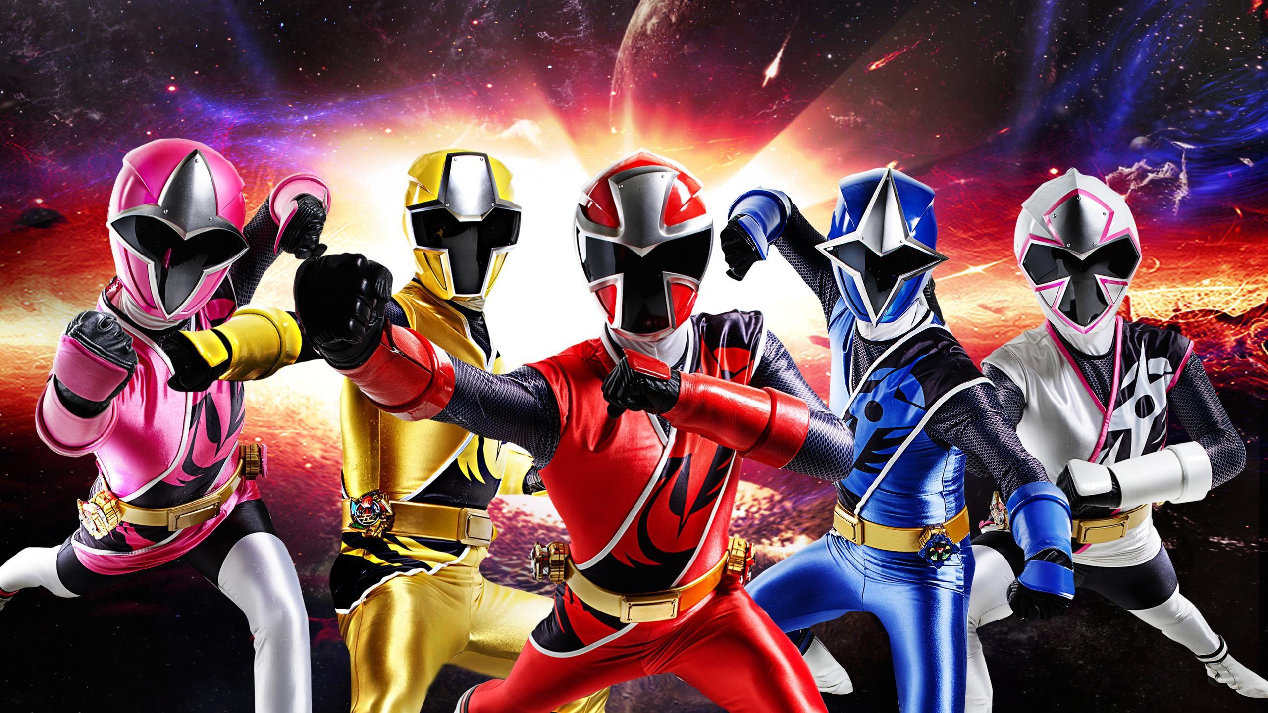 Power Rangers Ninja Steel with Summer Cove High BG by .